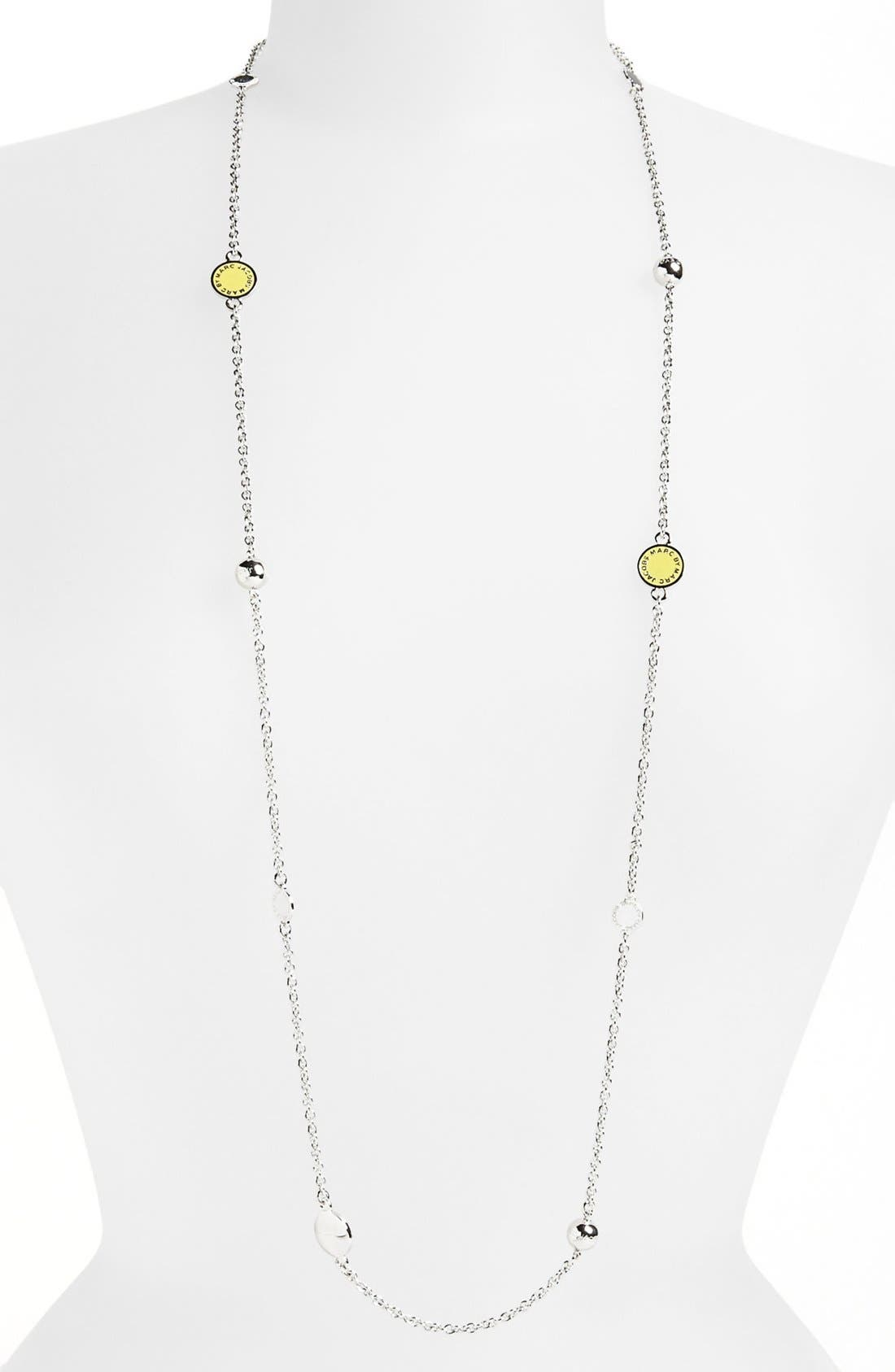 'Classic Marc' Long Necklace,                             Main thumbnail 15, color,