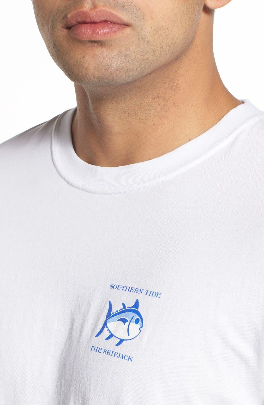 'Skipjack'Long Sleeve Graphic T-Shirt,                             Alternate thumbnail 37, color,