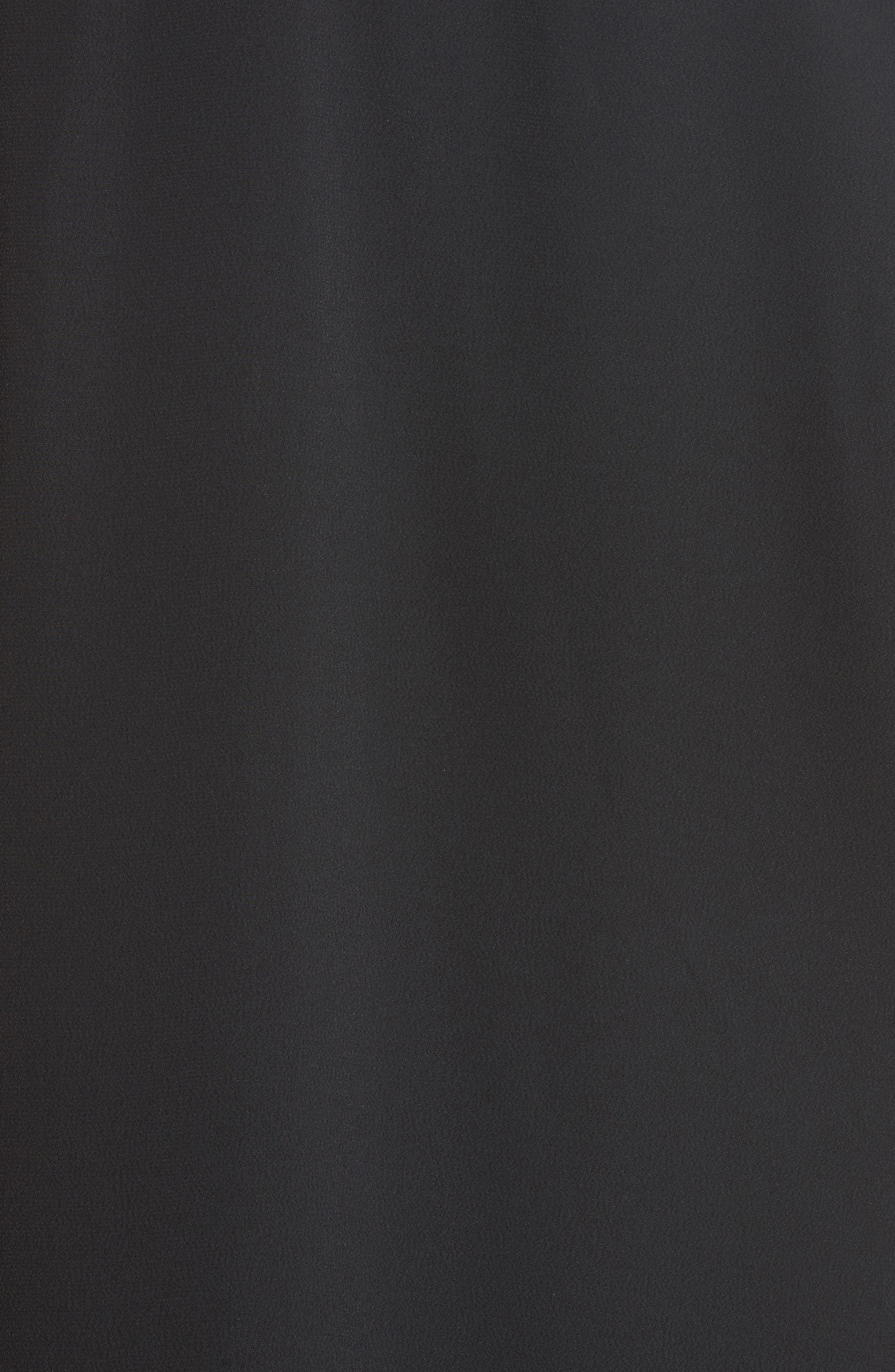 Zipper Shoulder Detail Dress,                             Alternate thumbnail 5, color,                             001