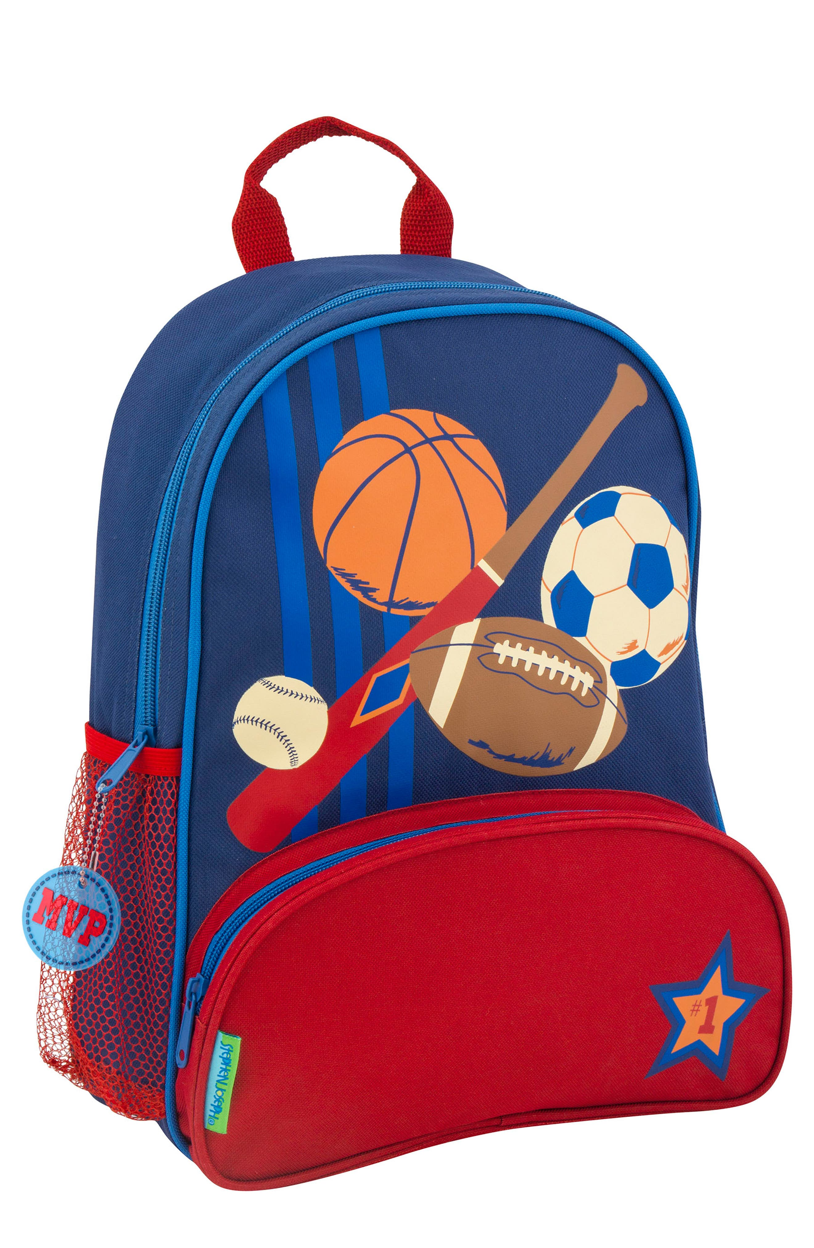Sports Sidekick Backpack & Lunch Pal,                             Alternate thumbnail 4, color,                             SPORTS