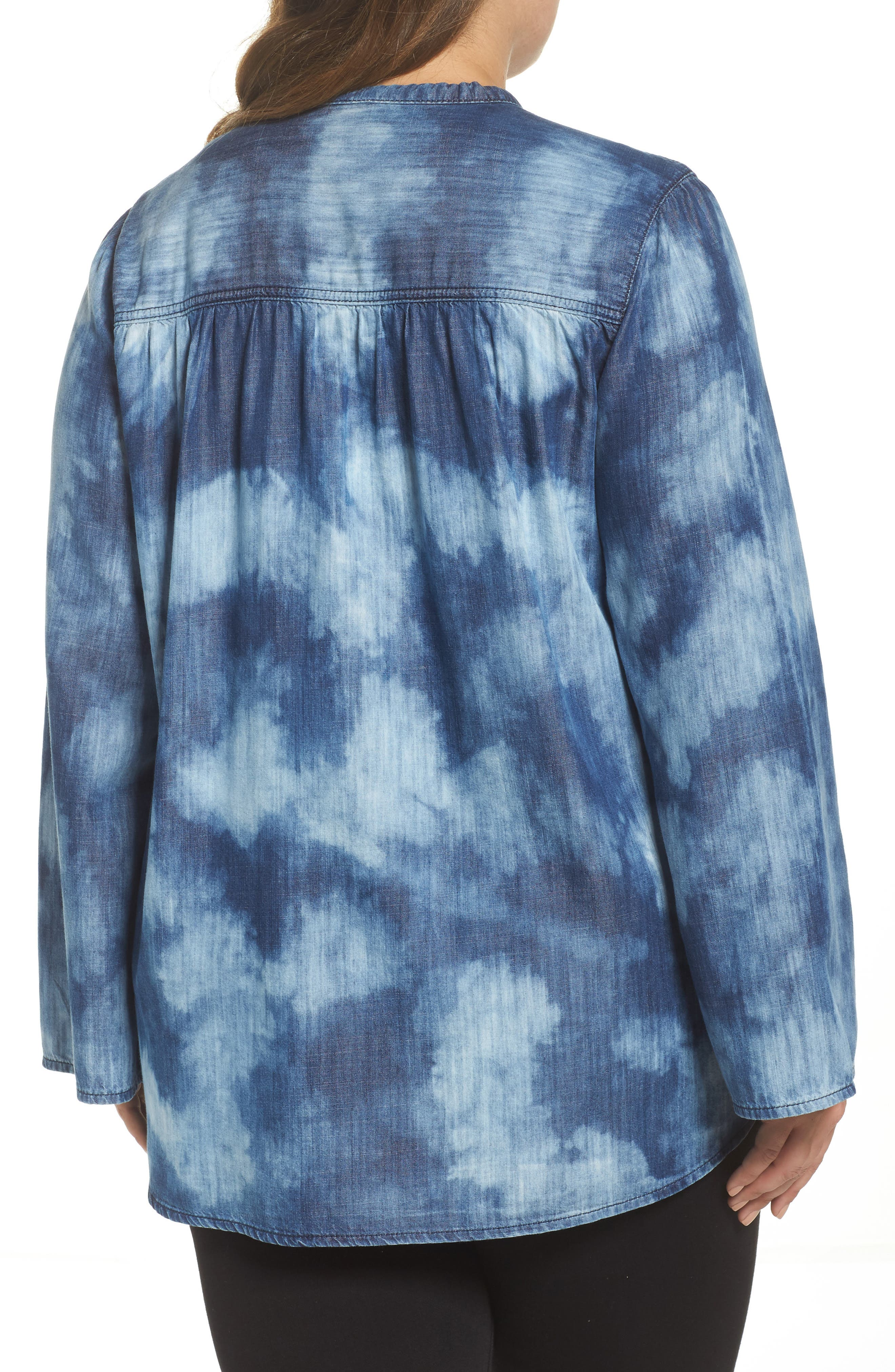 Bell Sleeve Top,                             Alternate thumbnail 2, color,                             422