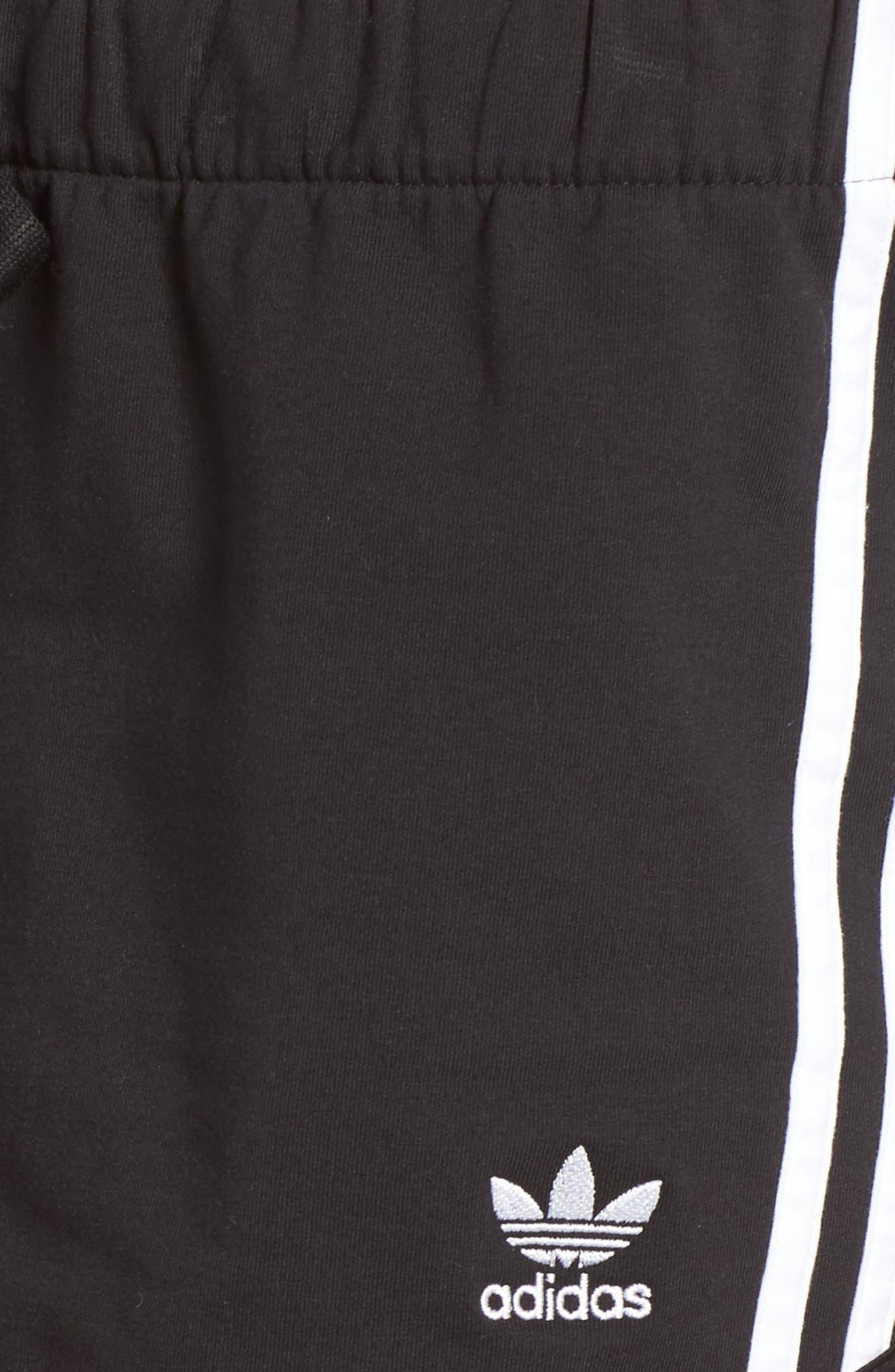 Originals Slim Fit Shorts,                             Alternate thumbnail 5, color,                             001