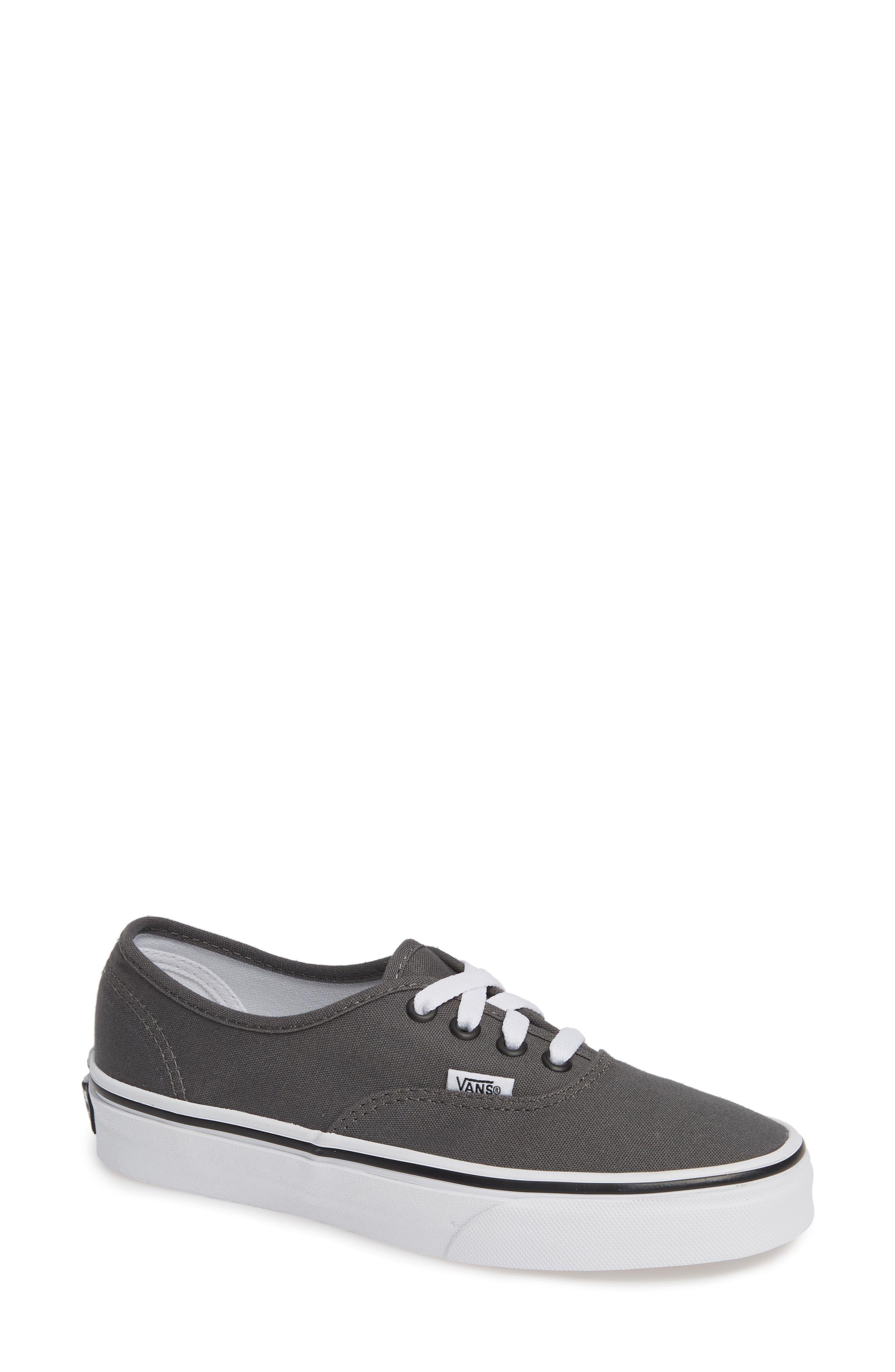 'Authentic' Sneaker,                             Alternate thumbnail 2, color,                             PEWTER/BLACK