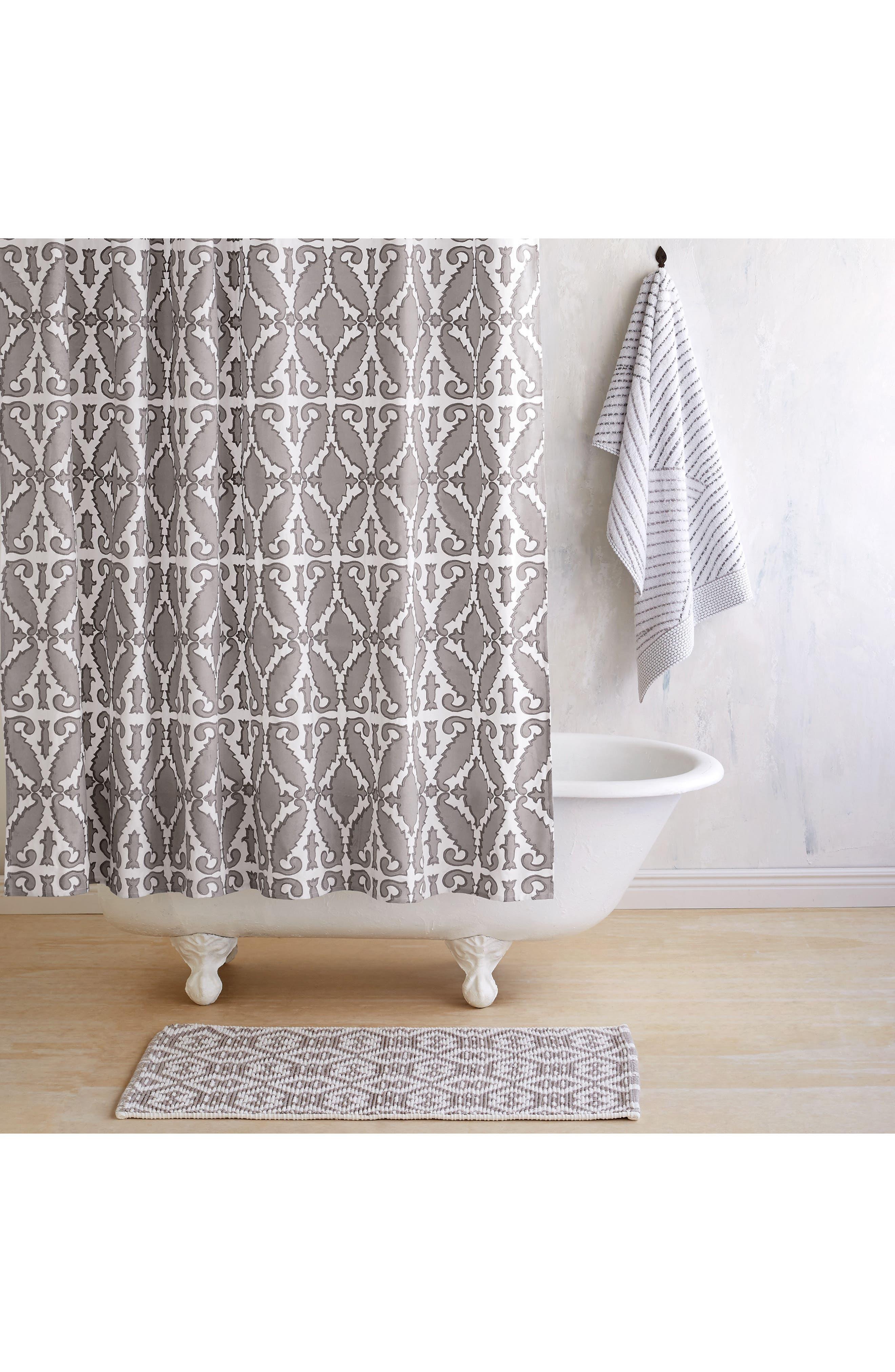 Khoma Shower Curtain,                             Main thumbnail 1, color,                             020