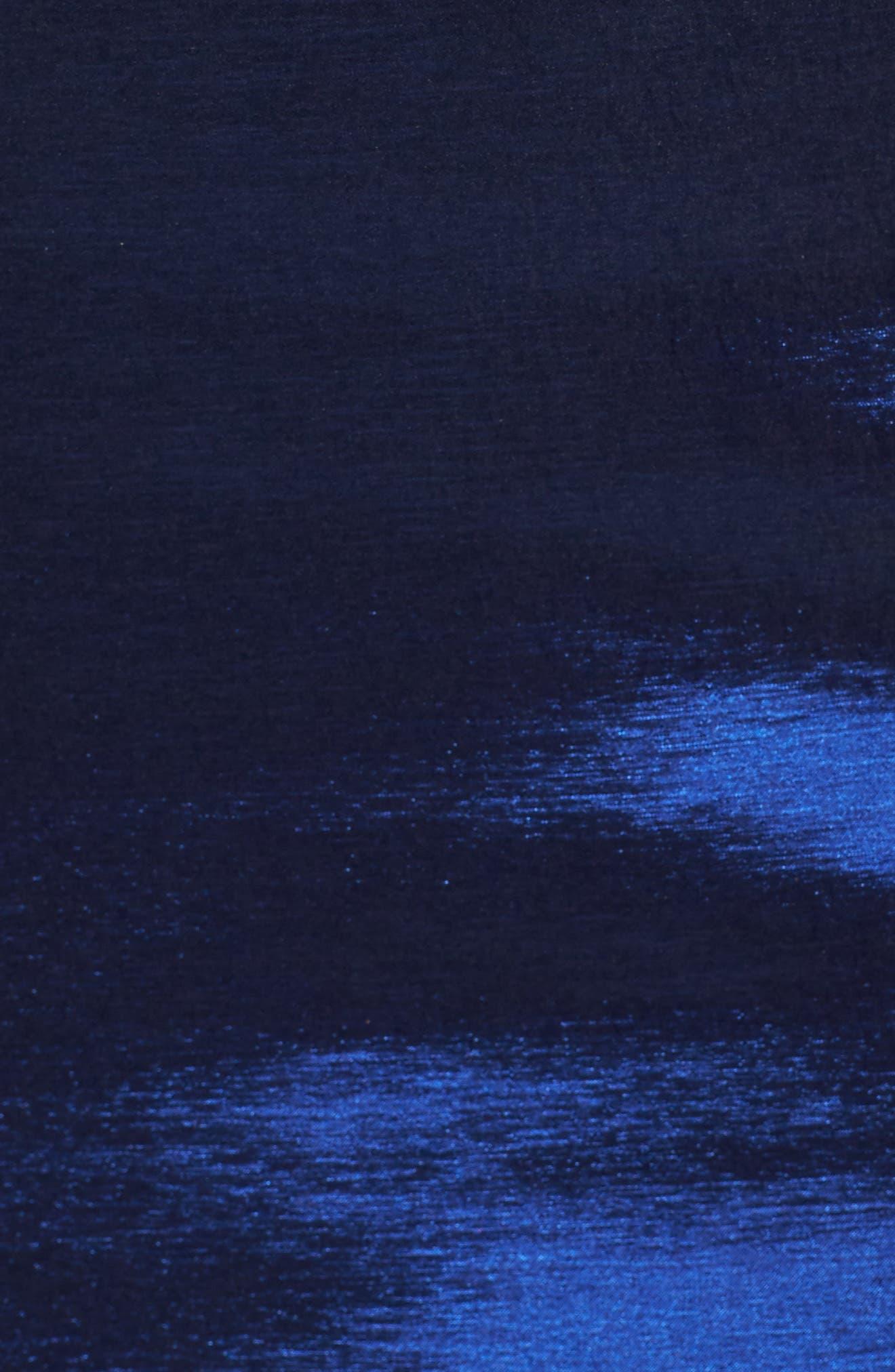 MAC DUGGAL,                             Embellished Waist Taffeta Ballgown,                             Alternate thumbnail 5, color,                             401