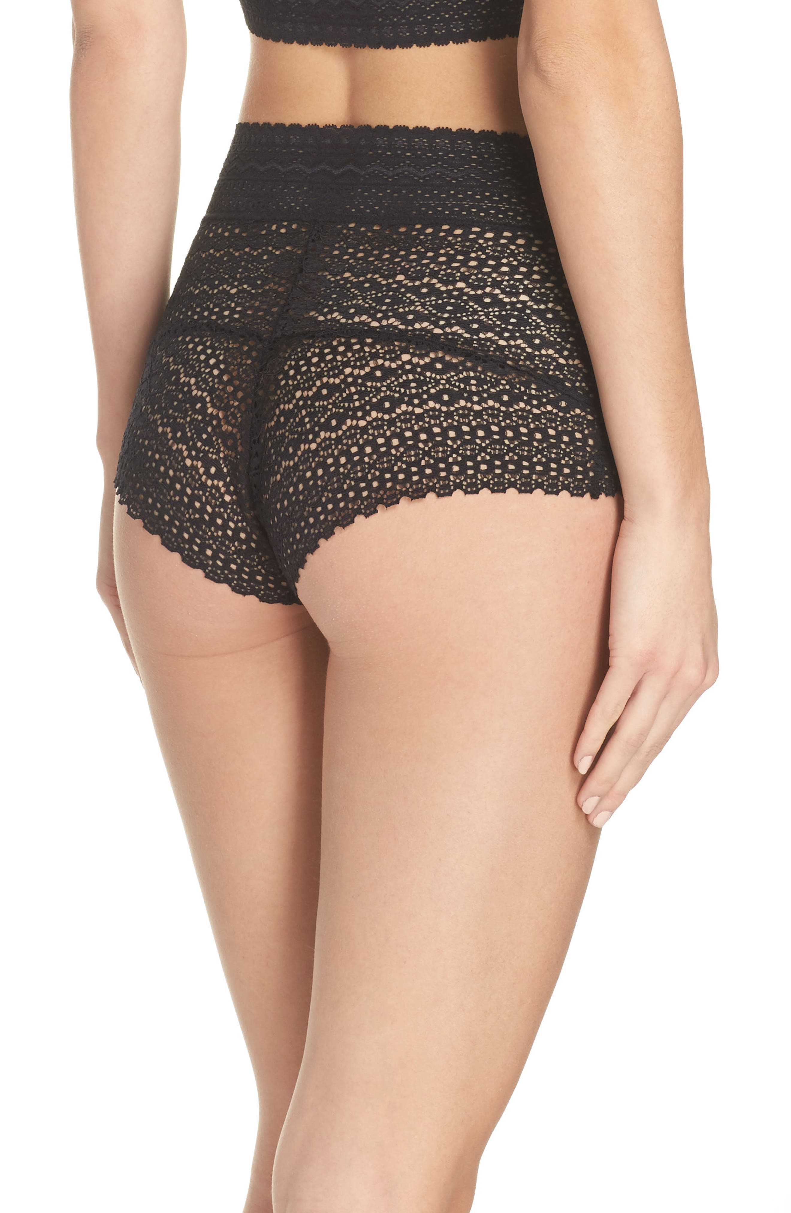 Rumi High Waist Briefs,                             Alternate thumbnail 2, color,                             001