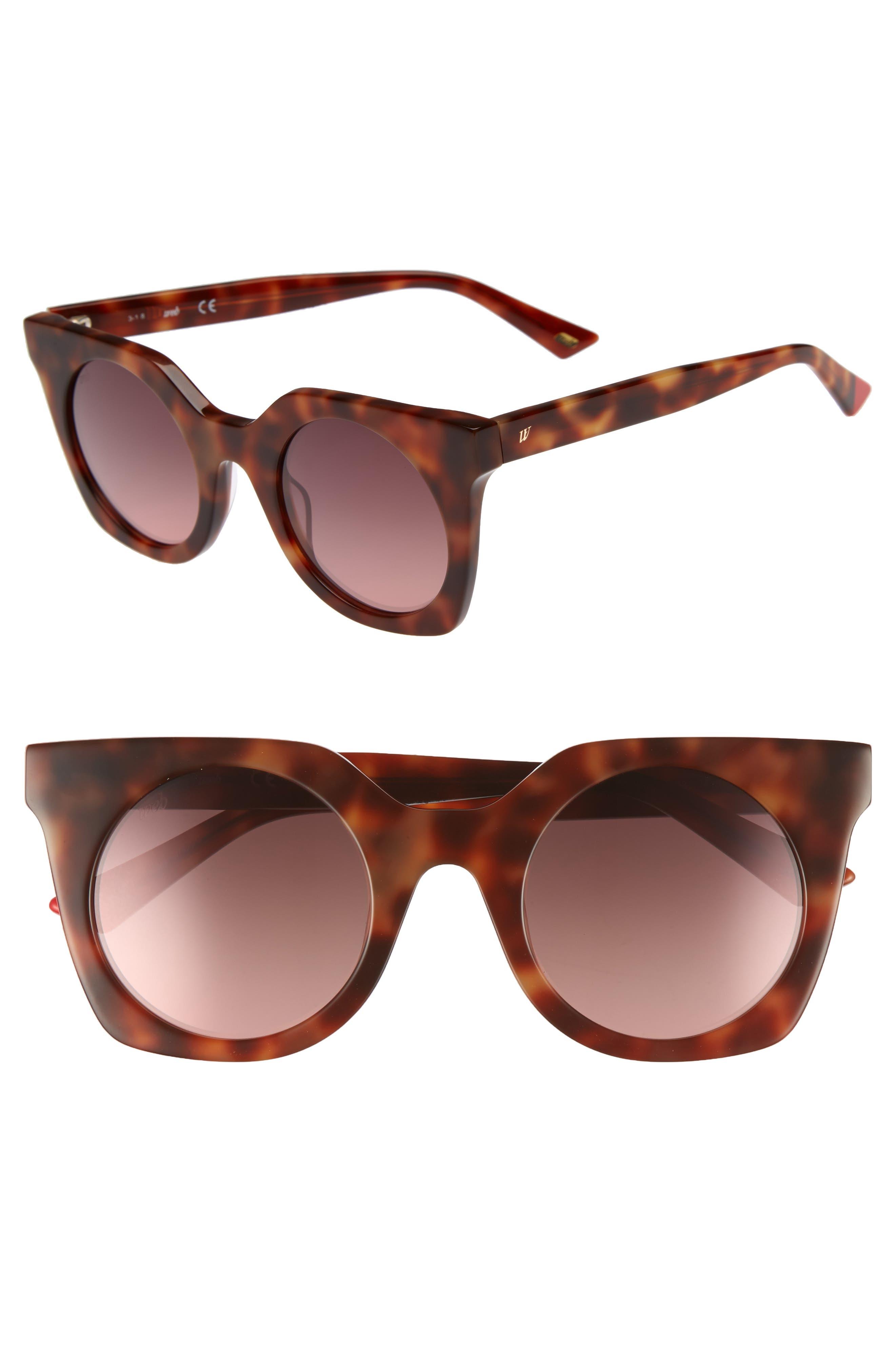 48mm Sunglasses,                             Main thumbnail 1, color,                             BLONDE HAVANA/ GRADIENT