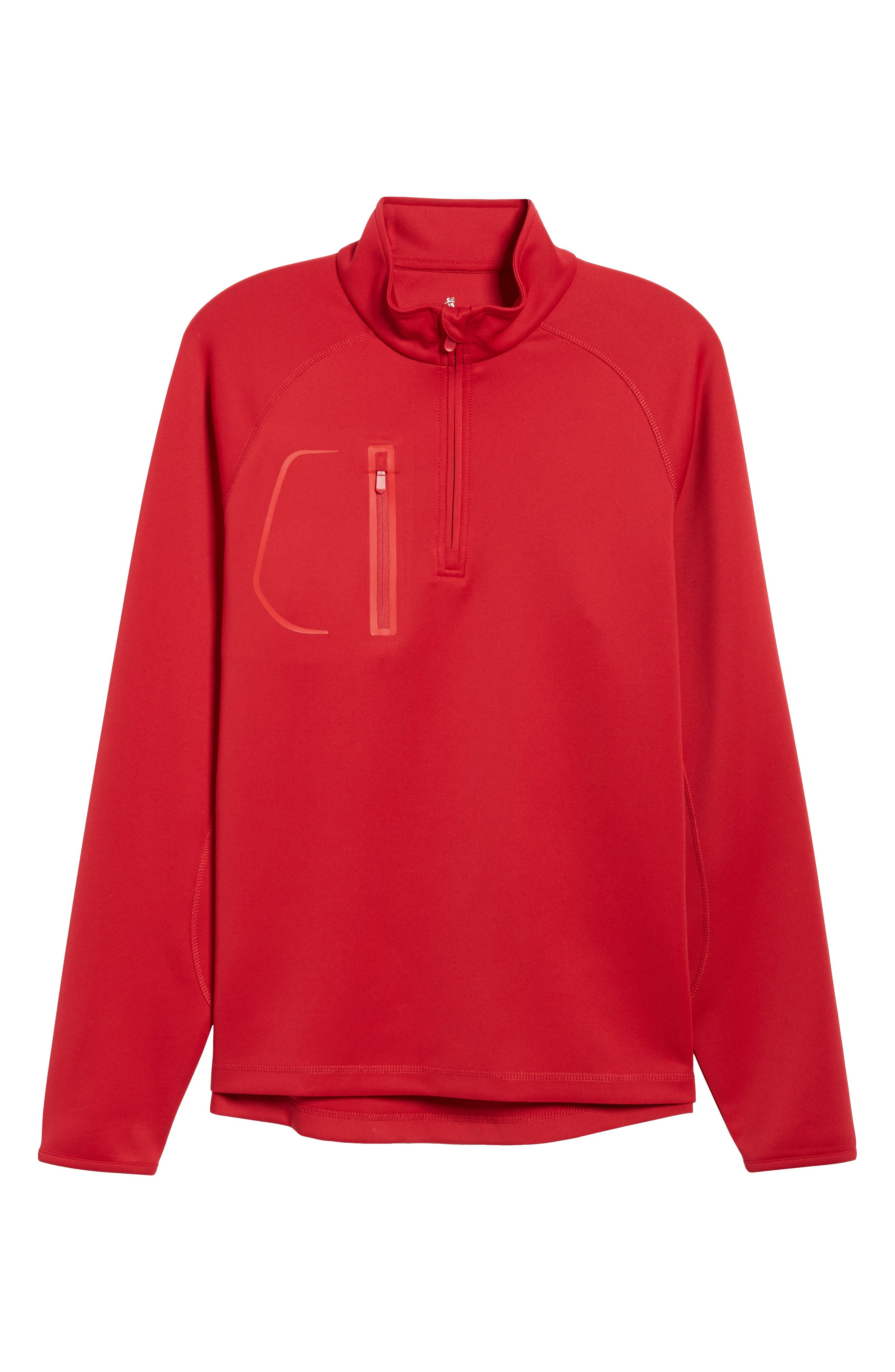 XH2O Crawford Stretch Quarter Zip Golf Pullover,                             Alternate thumbnail 67, color,
