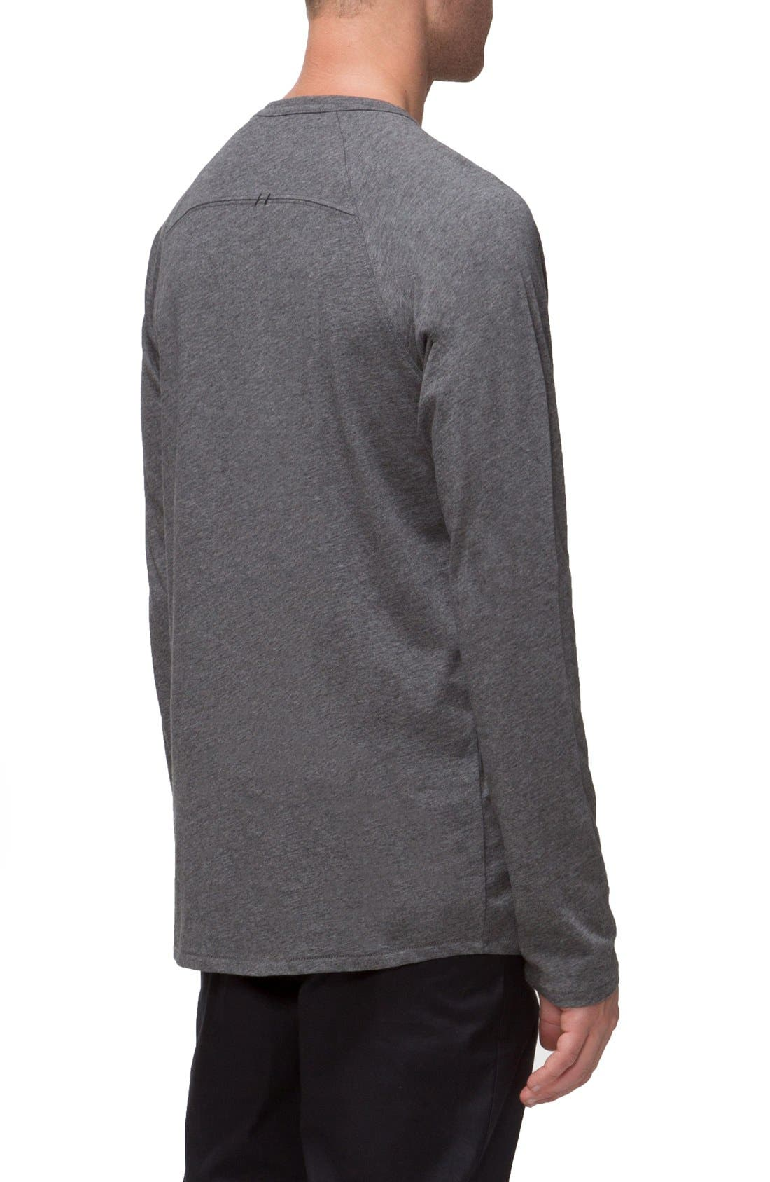 'Covert II' Raglan Long Sleeve T-Shirt,                             Alternate thumbnail 5, color,