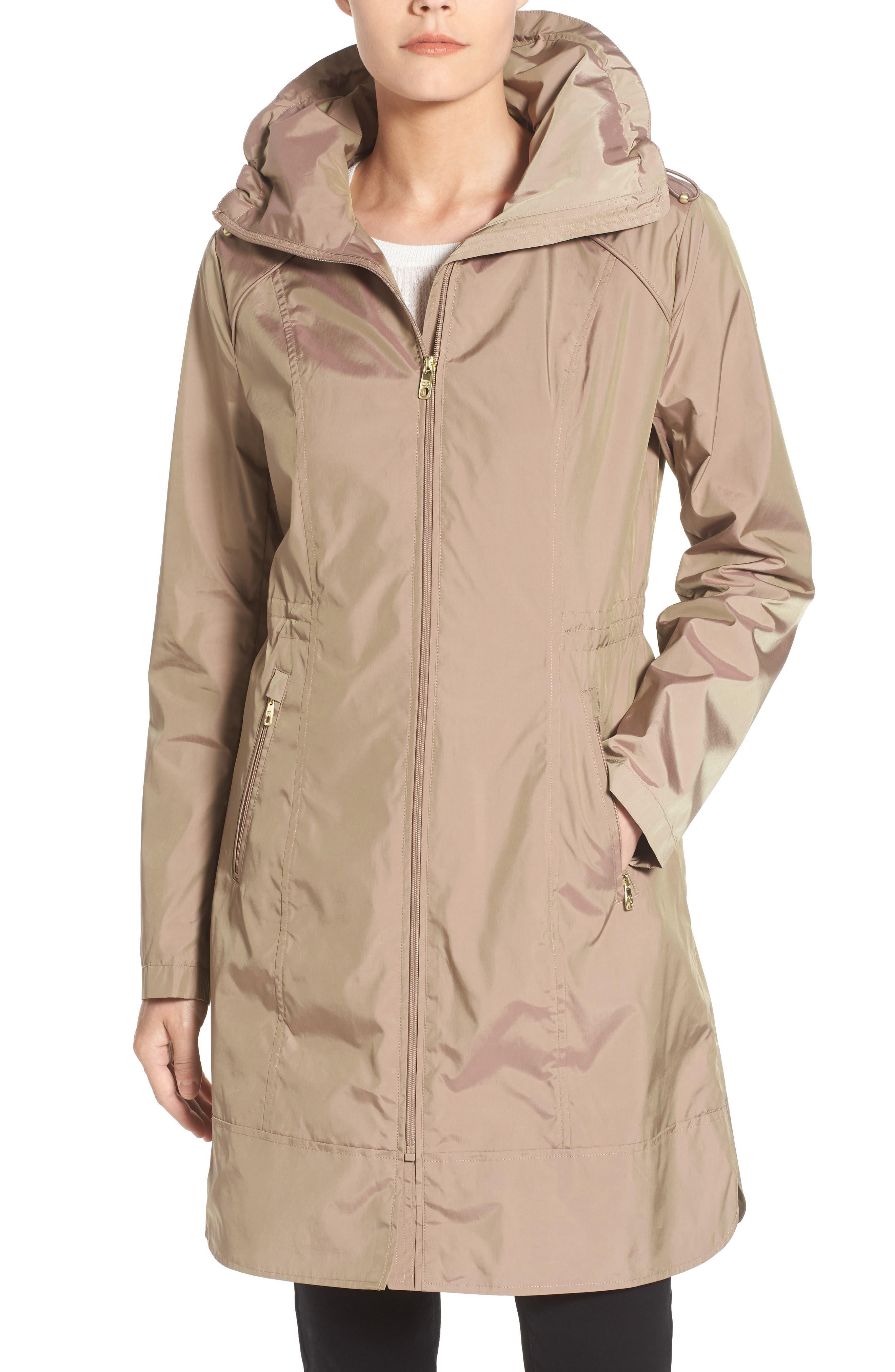 Packable Rain Jacket,                             Alternate thumbnail 7, color,