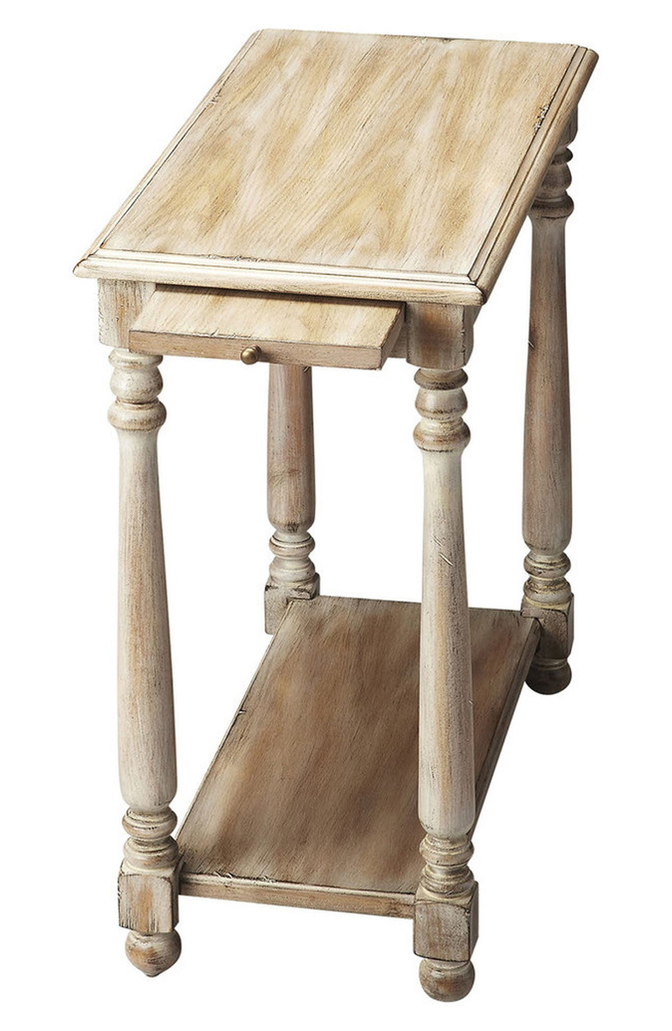 Wood Chairside Table,                         Main,                         color,