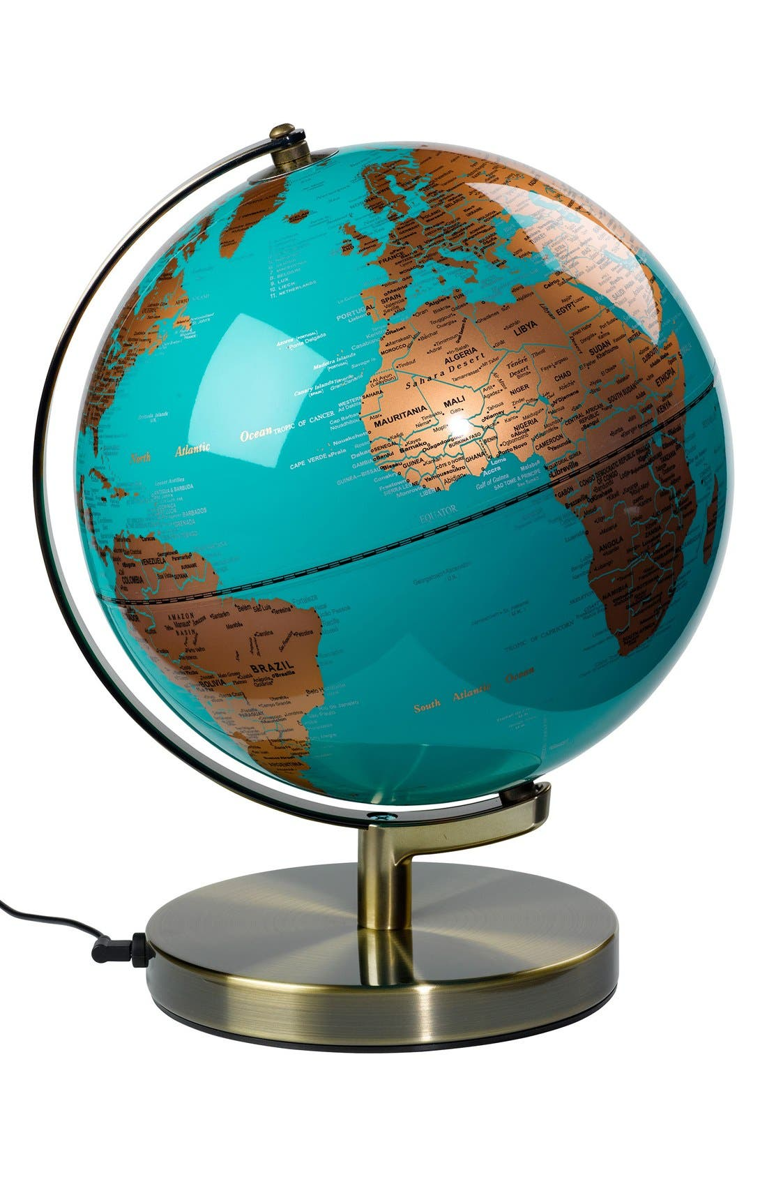 Wild and Wolf Globe Light,                             Main thumbnail 1, color,                             400