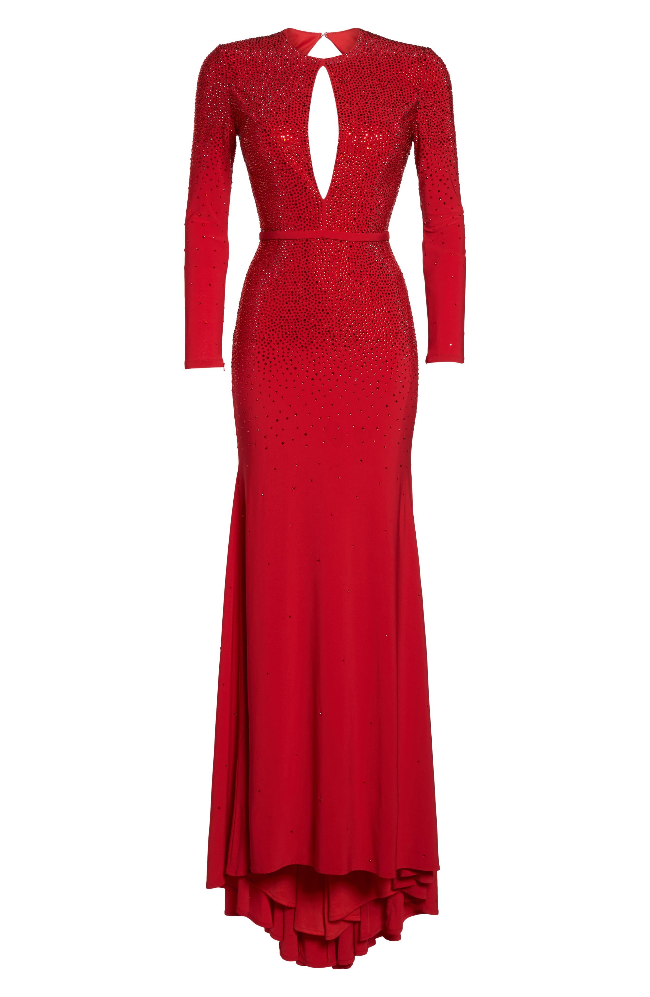 Off the Shoulder Fit & Flare Dress,                             Alternate thumbnail 7, color,                             600