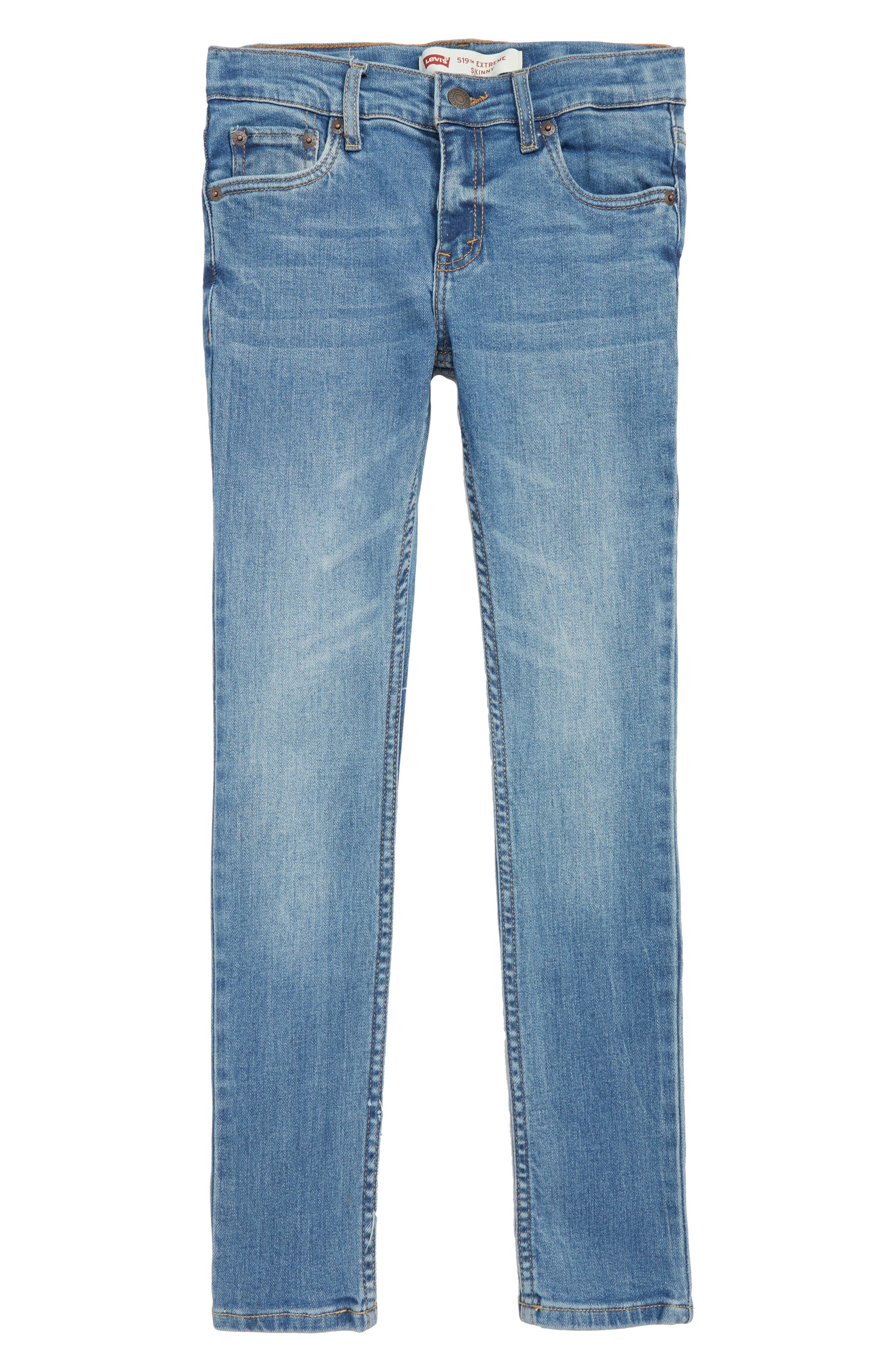 519<sup>™</sup> Extreme Skinny Fit Jeans,                             Main thumbnail 1, color,                             PALISADES