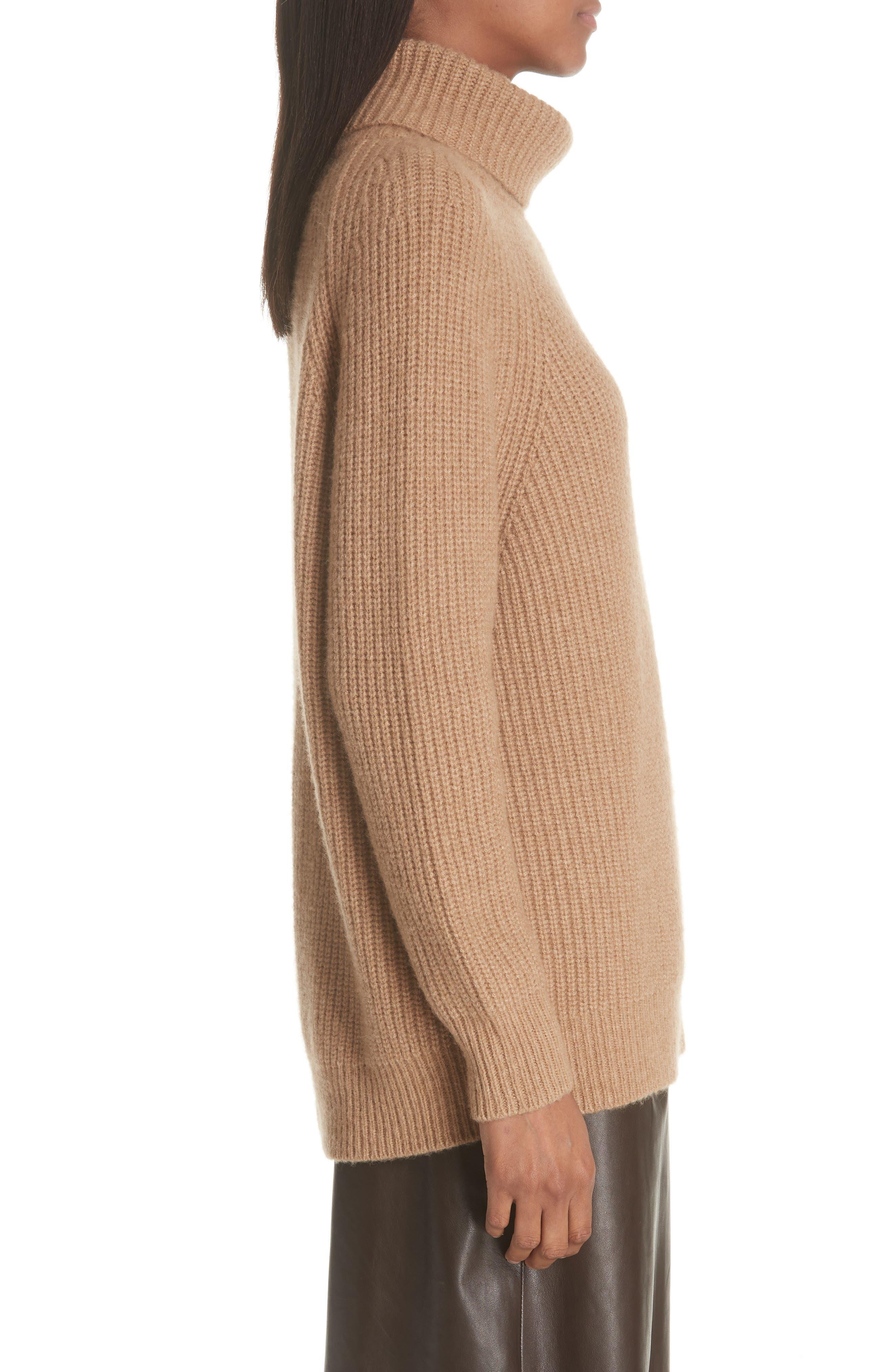 NILI LOTAN,                             Anitra Rib Knit Turtleneck Sweater,                             Alternate thumbnail 3, color,                             261