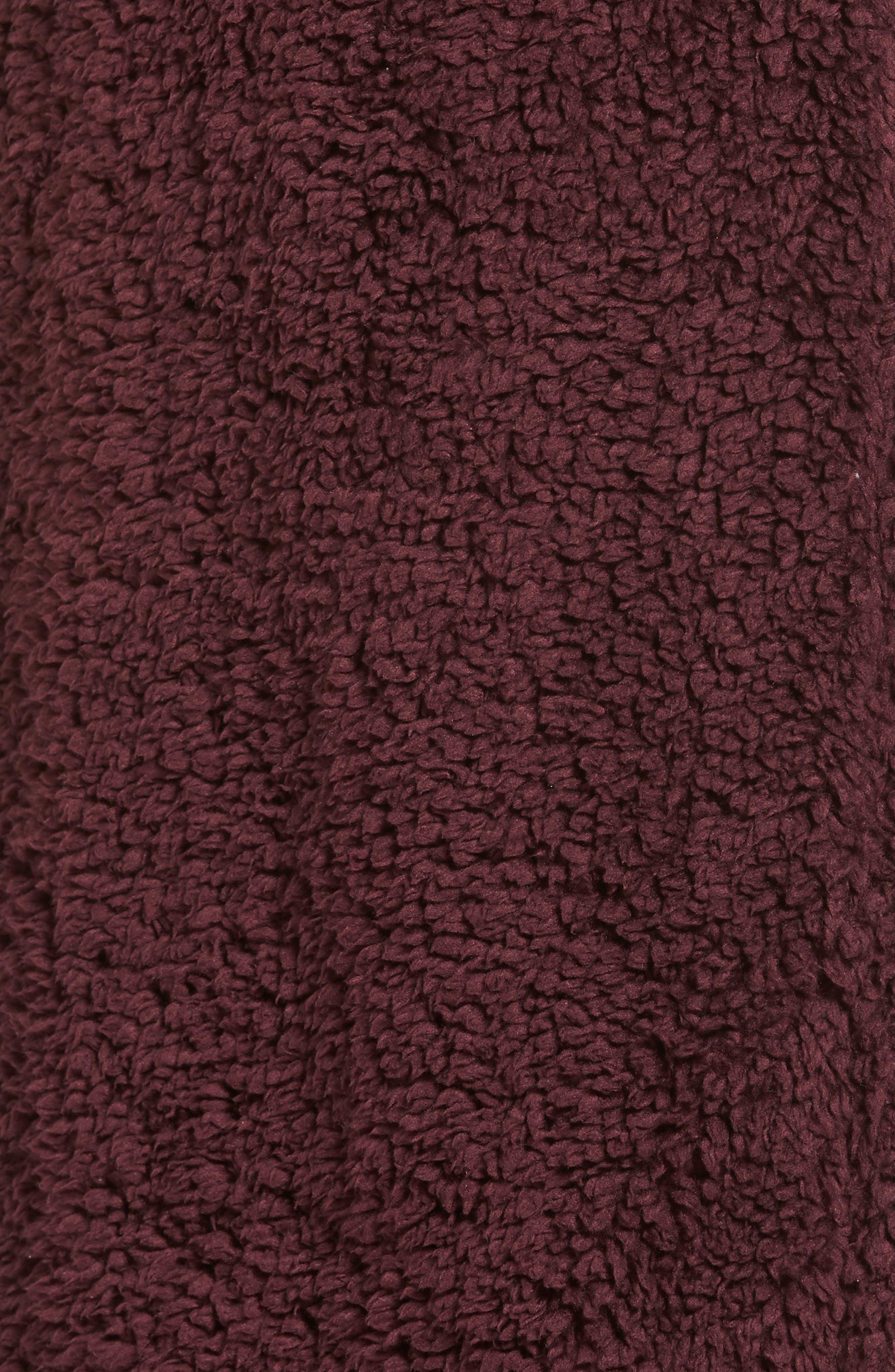 Violet Teddy Bear Coat,                             Alternate thumbnail 17, color,