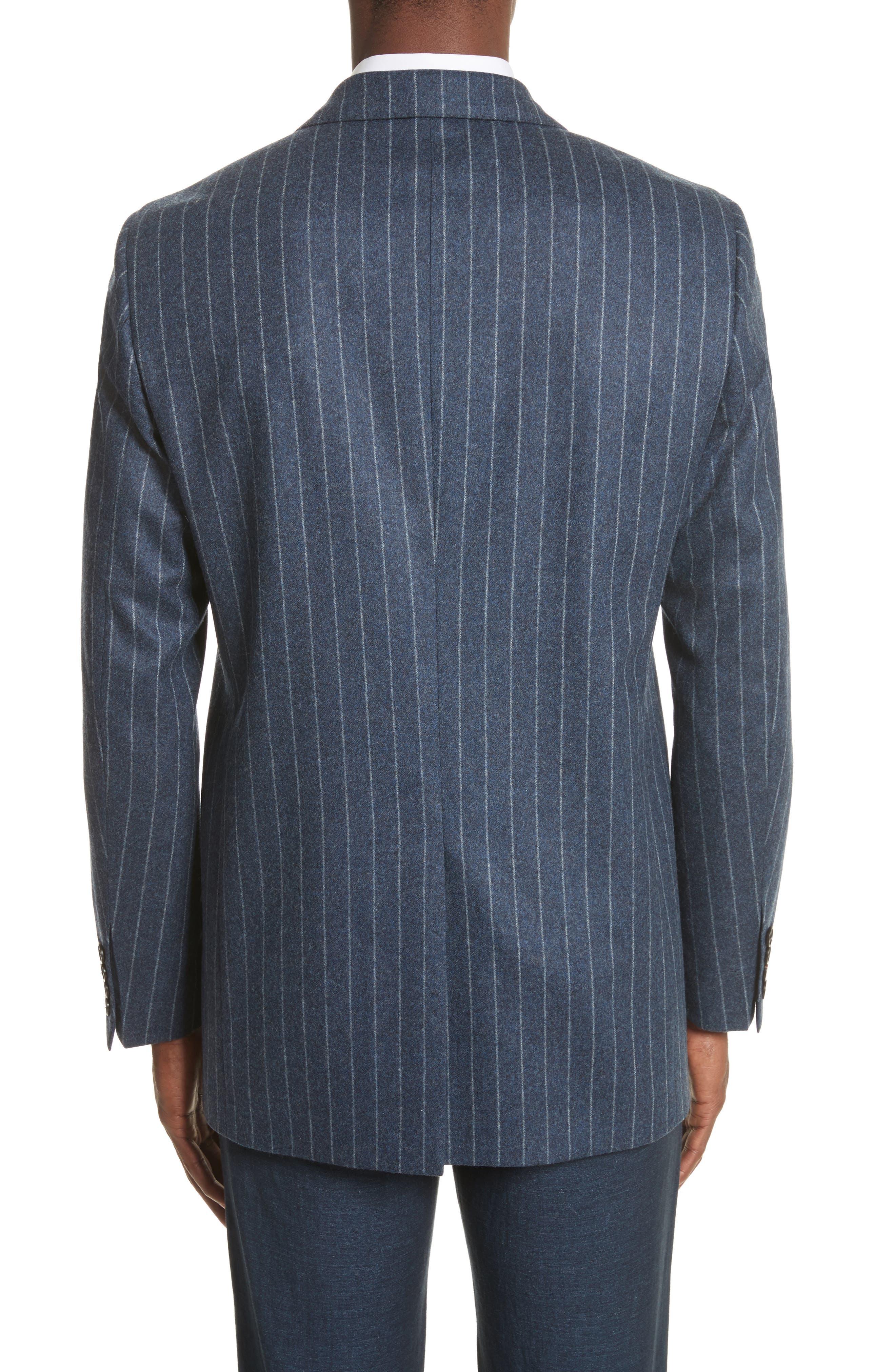 Trim Fit Wool Sport Coat,                             Alternate thumbnail 2, color,
