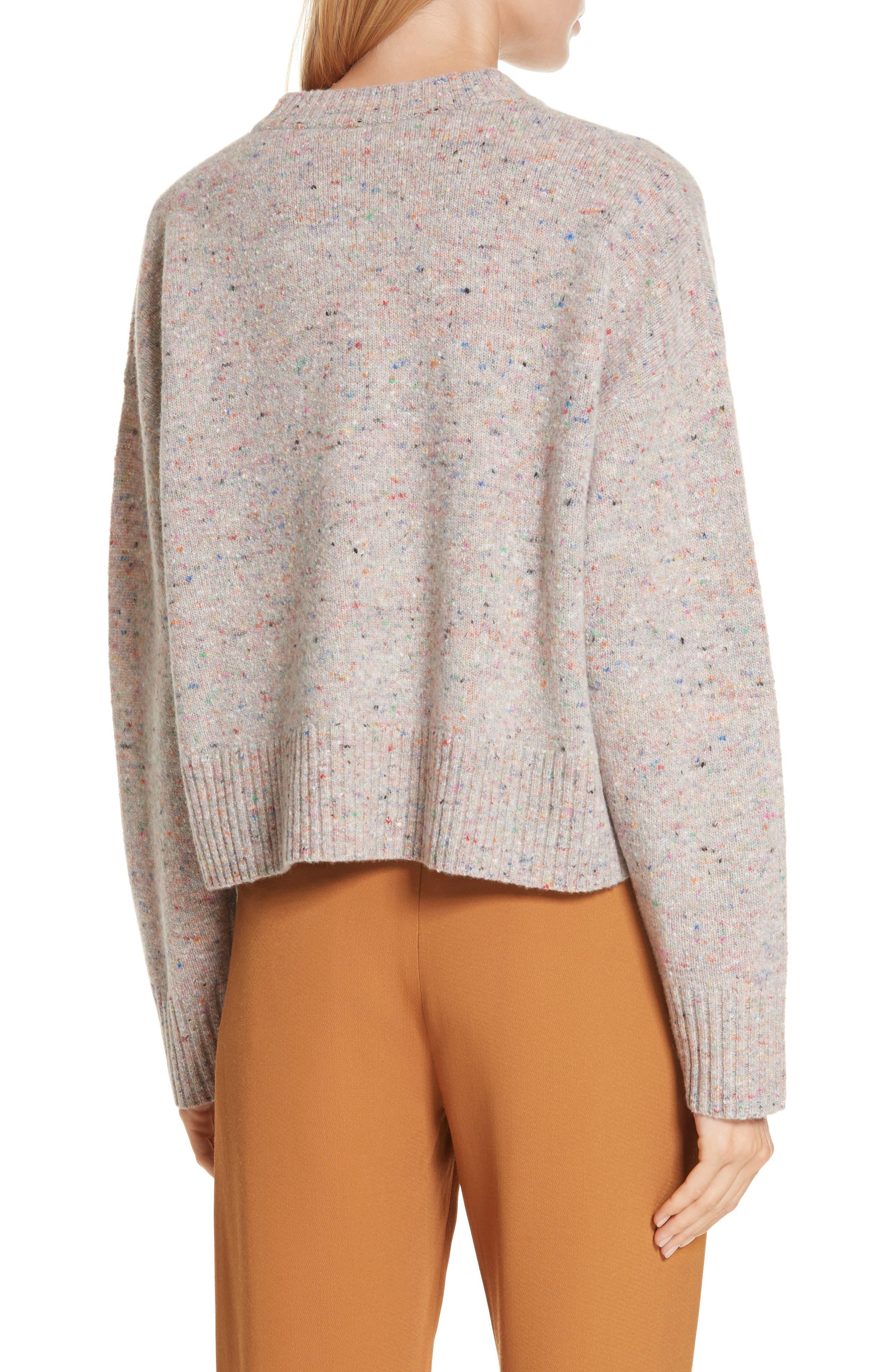Emmeline Lambswool & Cashmere Blend Sweater,                             Alternate thumbnail 2, color,                             MULTICOLOR