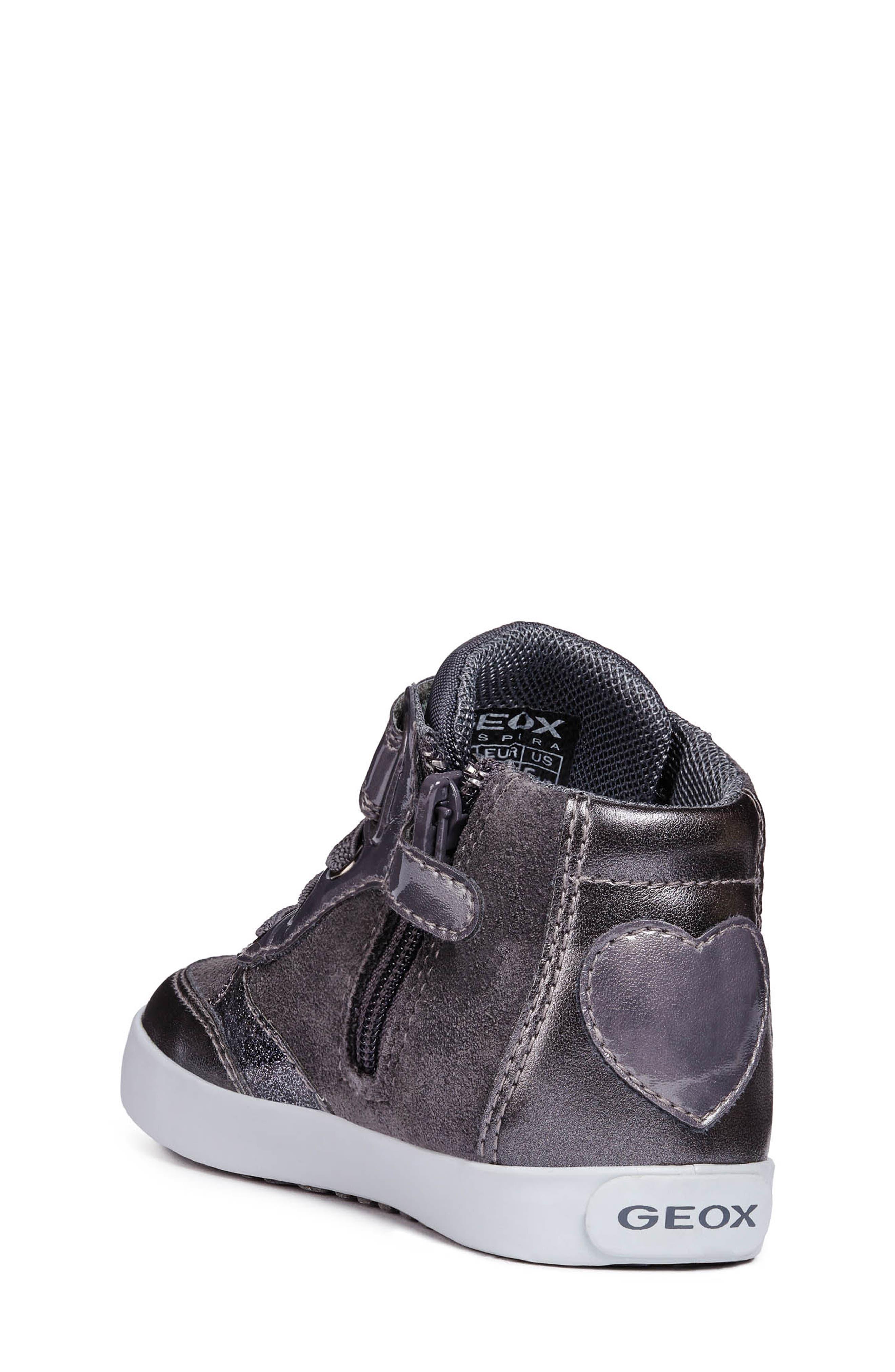 Kilwi High Top Sneaker,                             Alternate thumbnail 2, color,                             DARK GREY