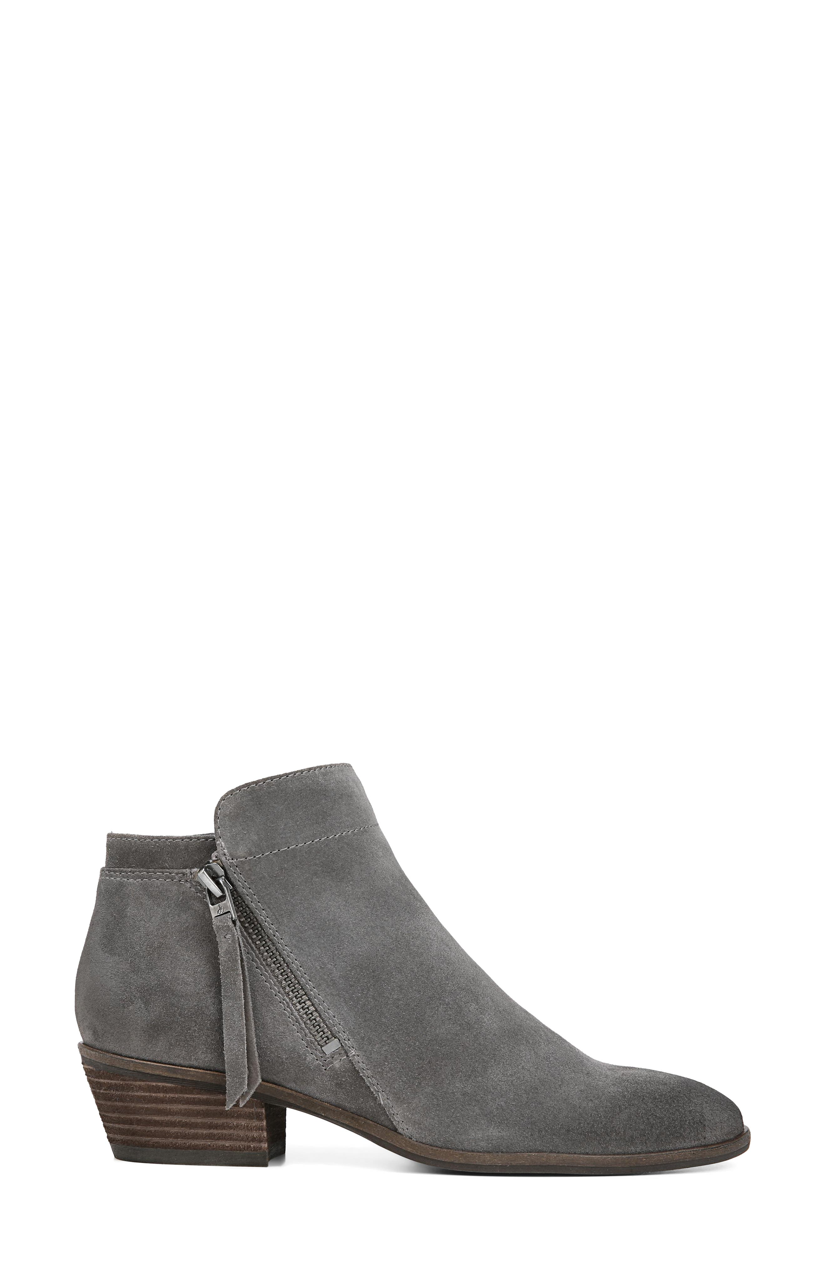 Packer Bootie,                             Alternate thumbnail 3, color,                             STEEL GREY SUEDE LEATHER