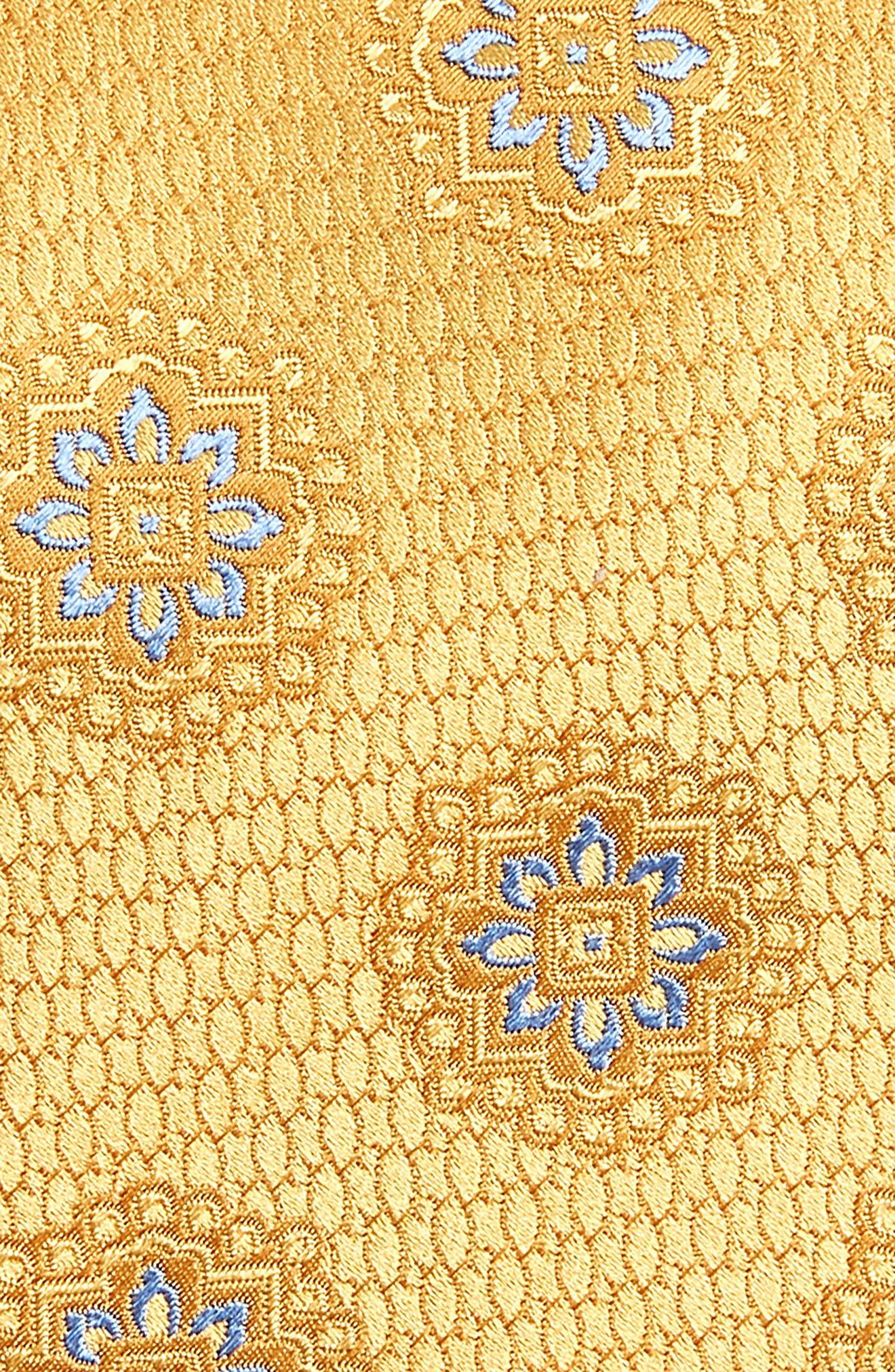 CANALI,                             Medallion Silk Tie,                             Alternate thumbnail 2, color,                             700