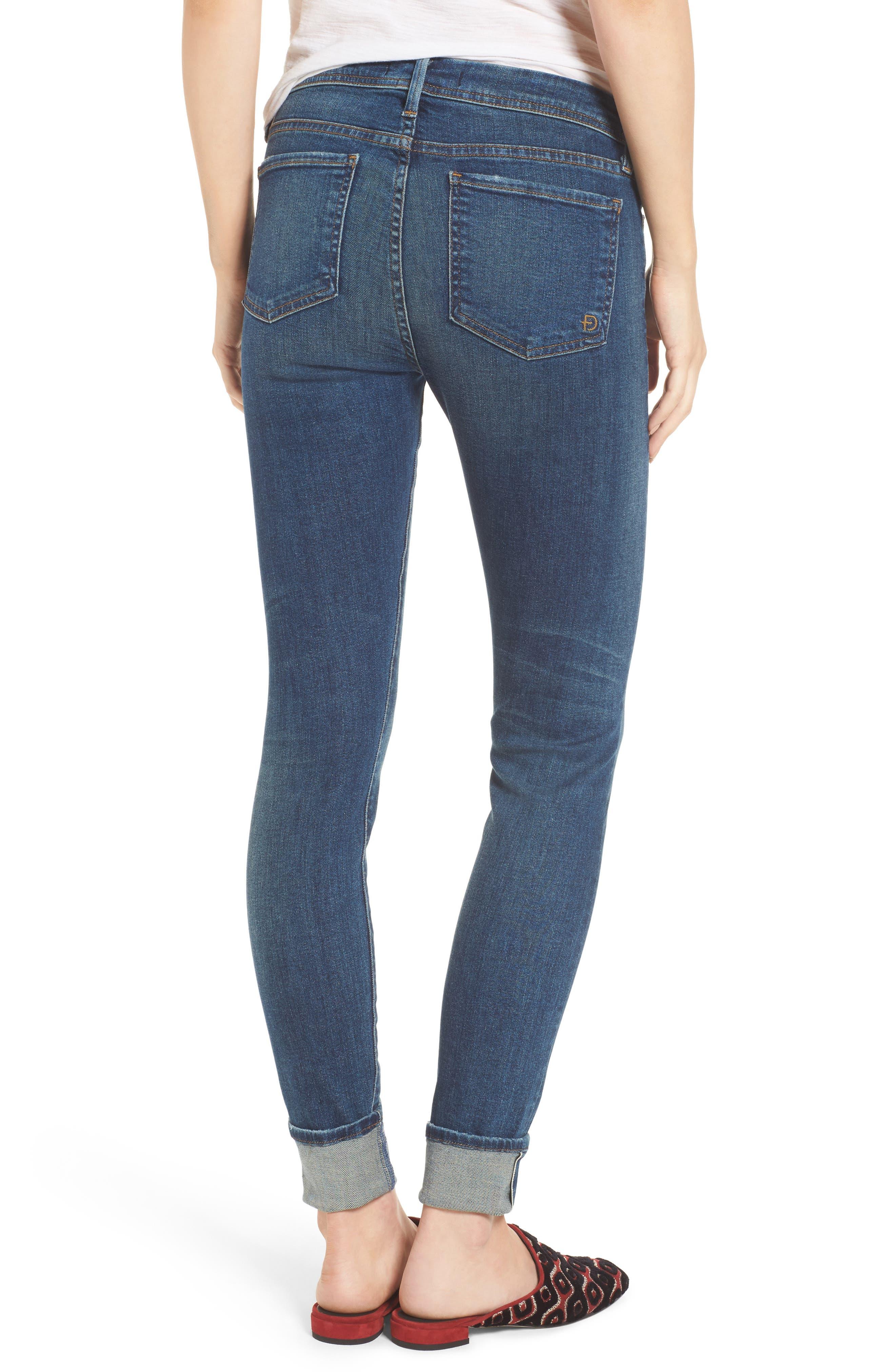 Belvedere Crop Skinny Jeans,                             Alternate thumbnail 2, color,