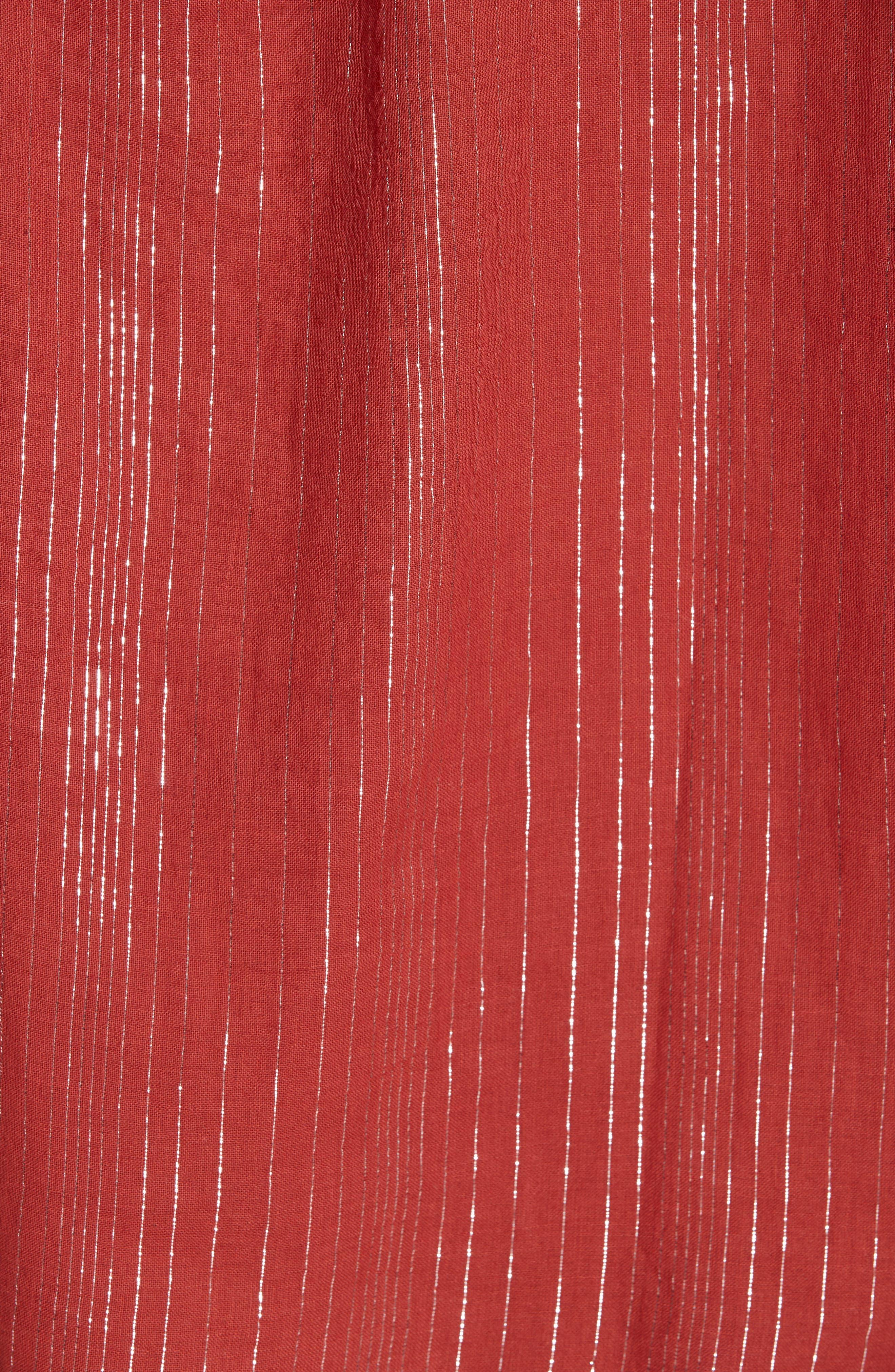 Cotton Peasant Blouse,                             Alternate thumbnail 5, color,                             600