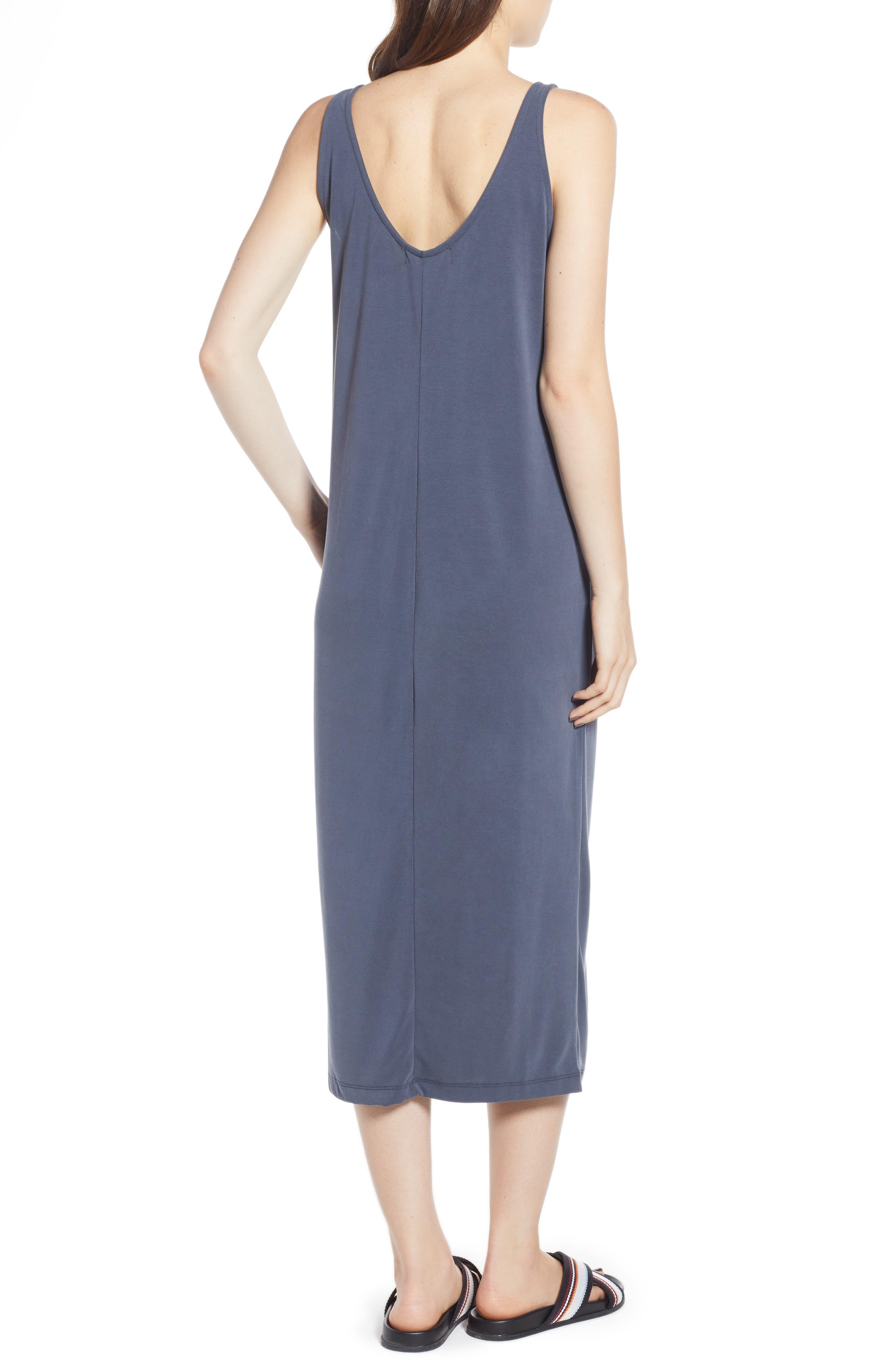 Tank Midi Dress,                             Alternate thumbnail 2, color,                             030