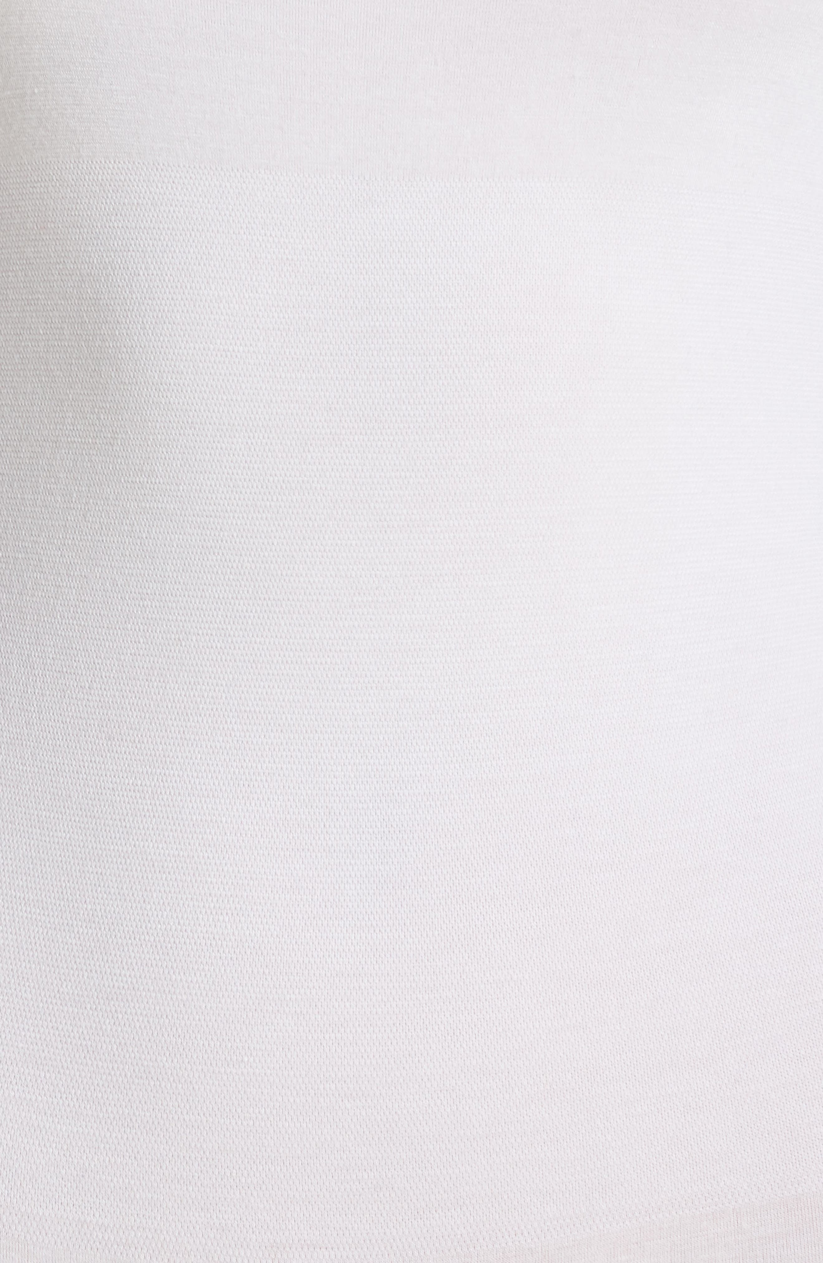 'Madelyn' Seamless Bodysuit,                             Alternate thumbnail 5, color,                             WHITE