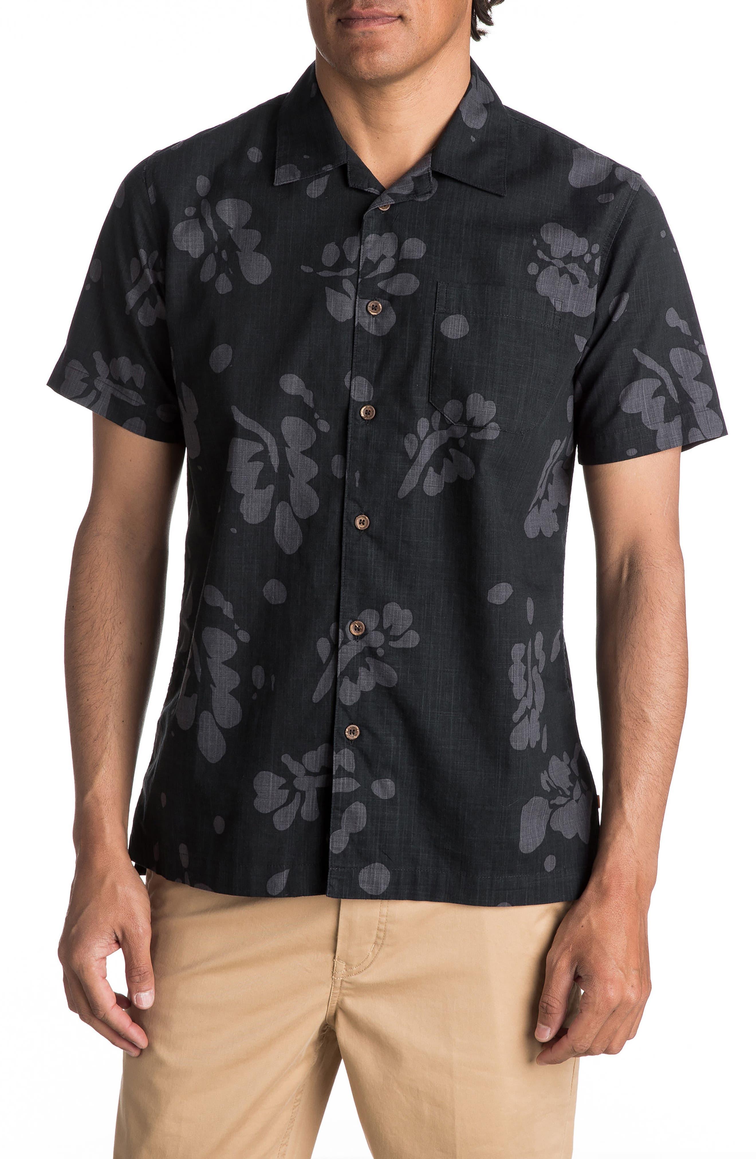 Los Palmas Woven Shirt,                             Main thumbnail 1, color,