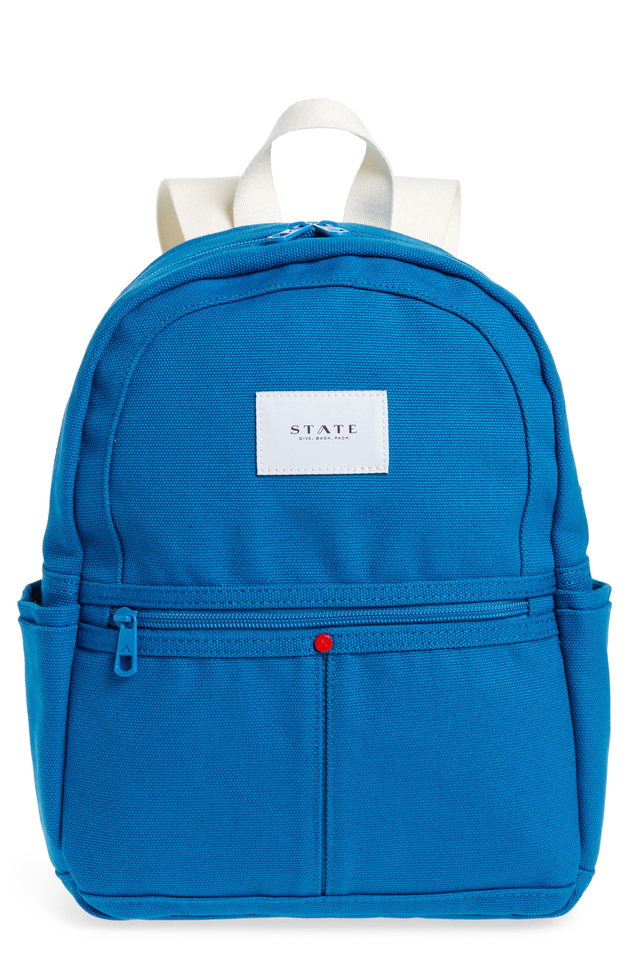 Kensington Mini Kane Canvas Backpack,                             Main thumbnail 1, color,                             POOL