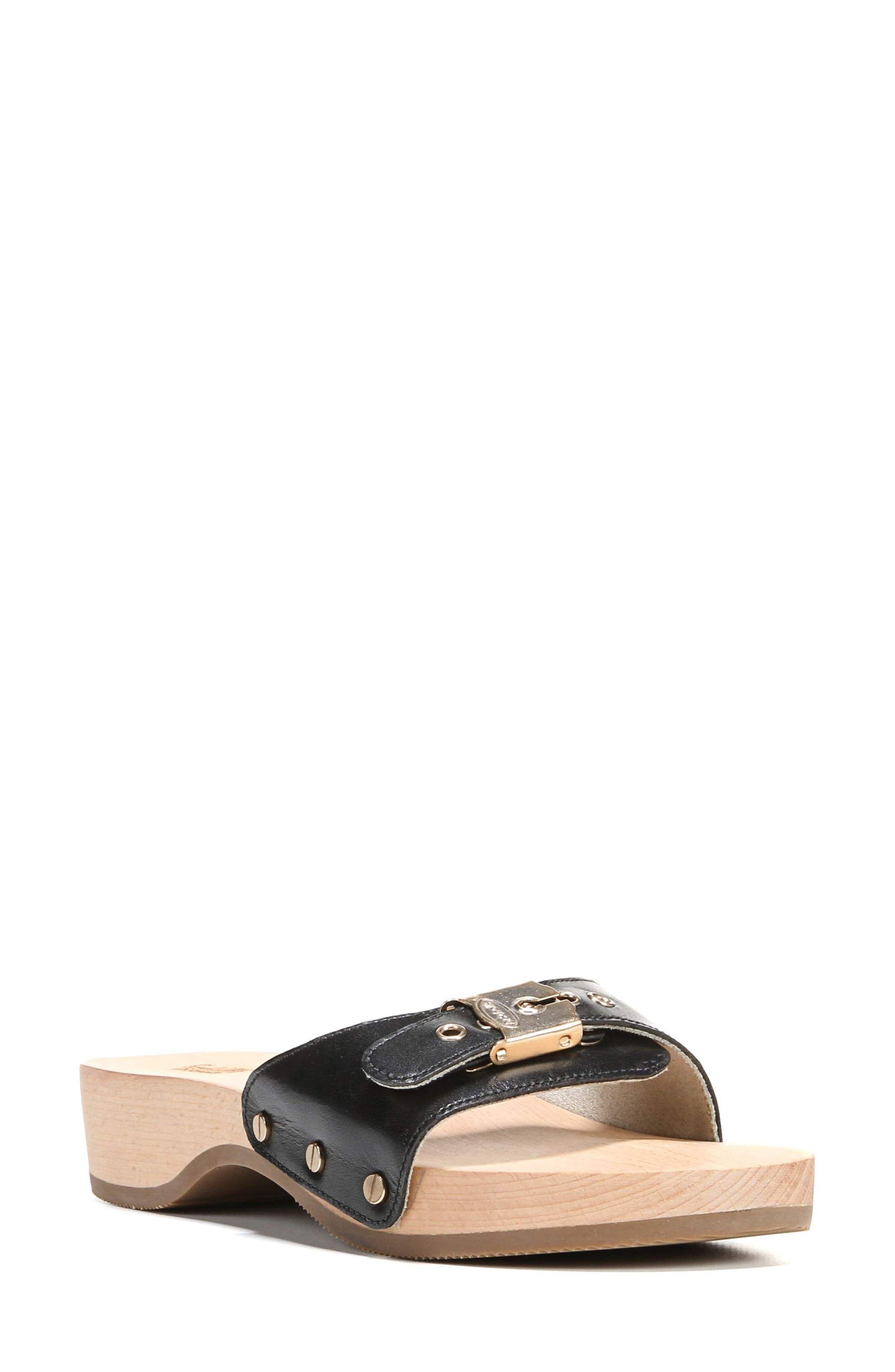 Original Collection Sandal,                         Main,                         color, BLACK