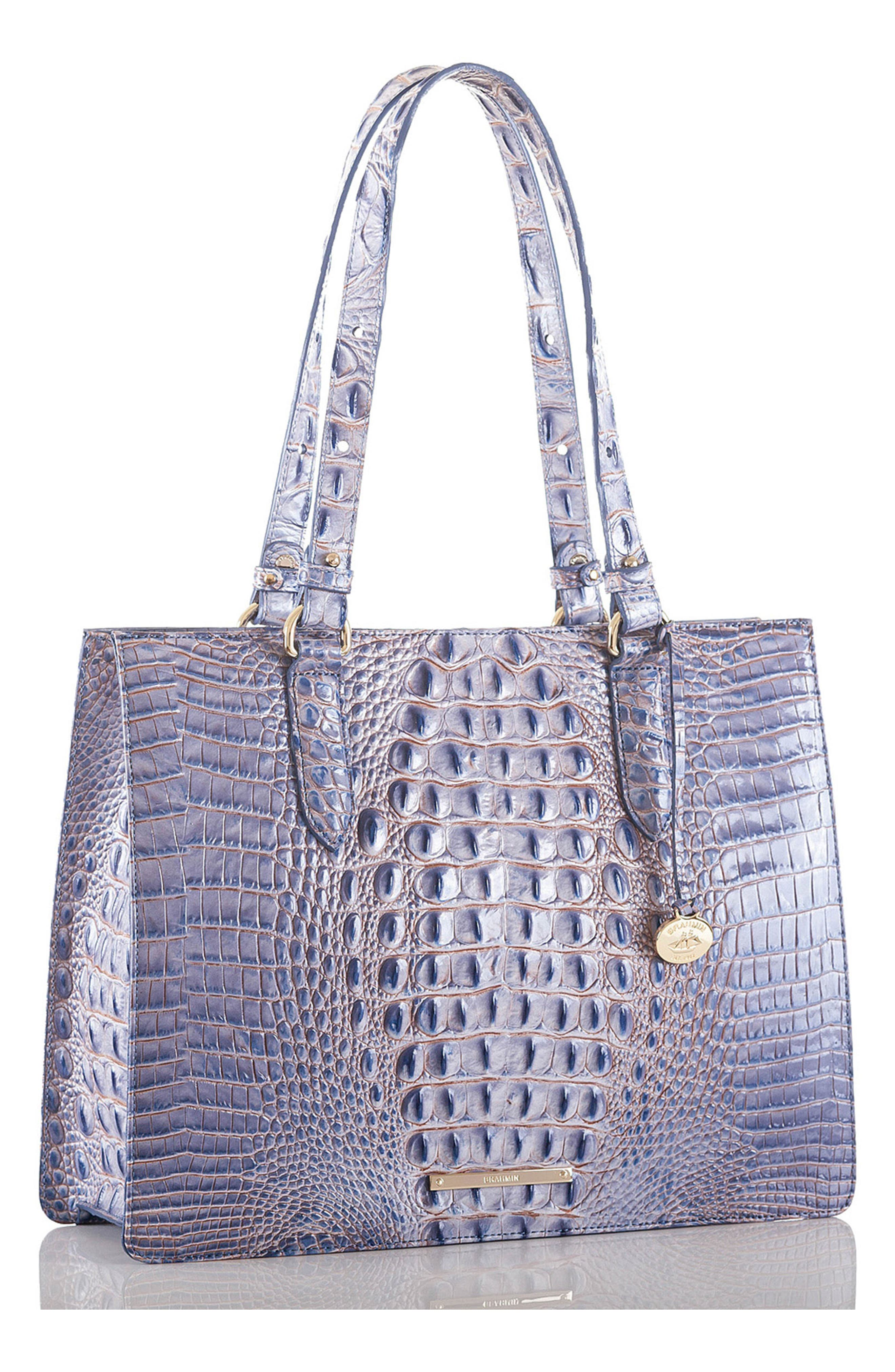 Medium Camille Leather Tote,                             Alternate thumbnail 8, color,