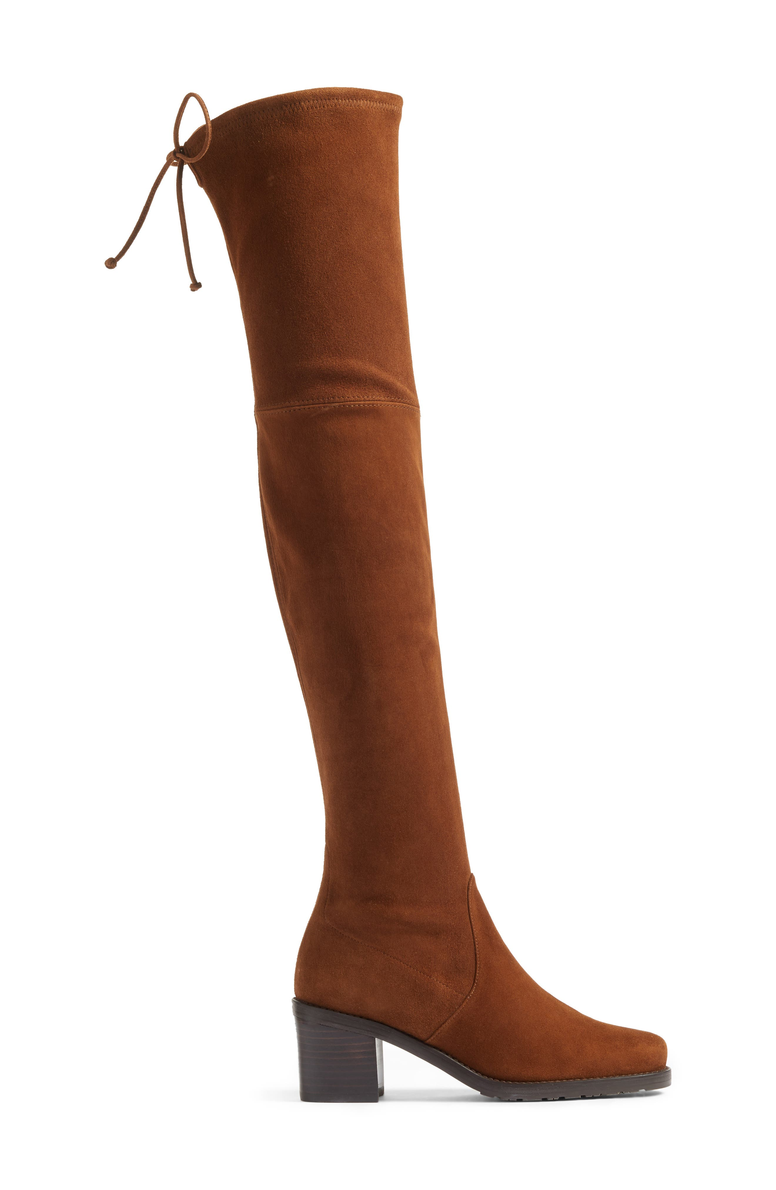 Elevated Over the Knee Boot,                             Alternate thumbnail 6, color,