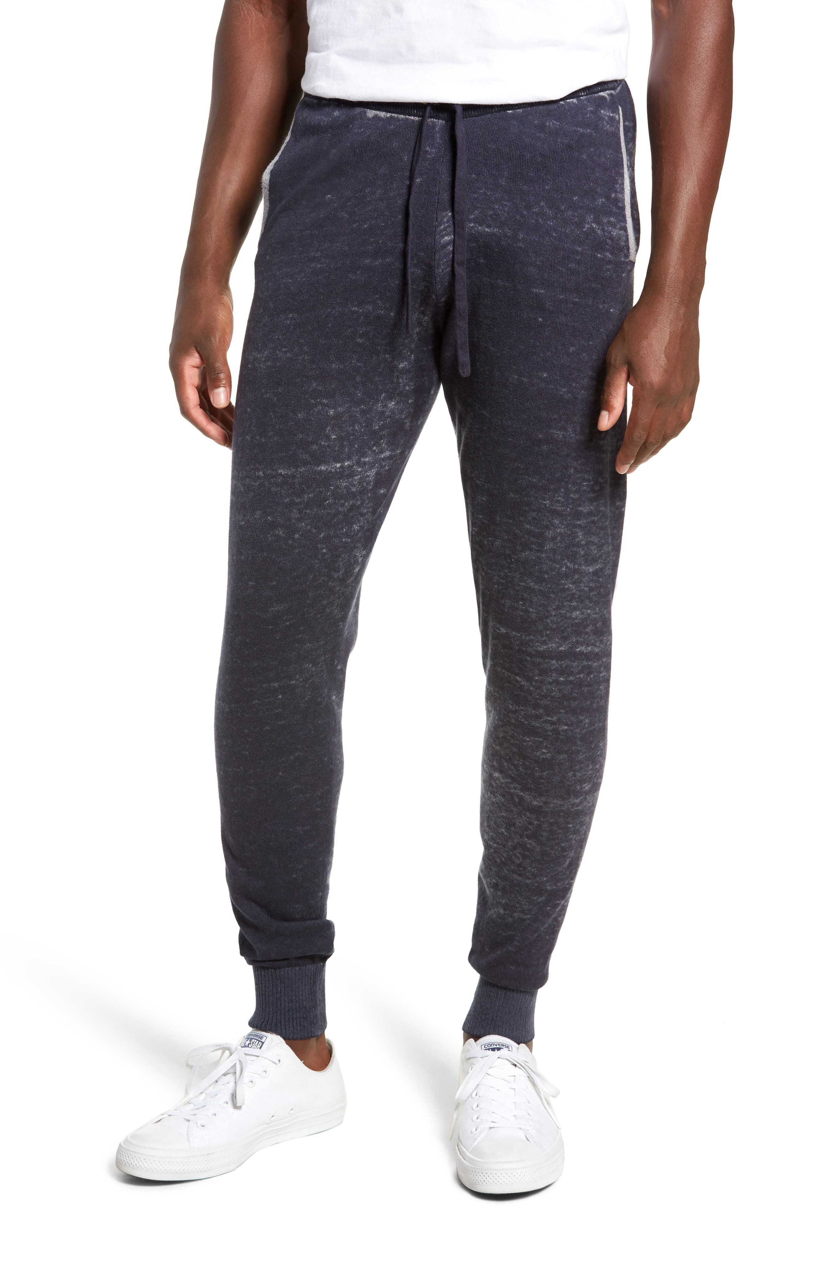 Kruse Rev Print Cash Sweatpants,                             Main thumbnail 1, color,                             MOONLESS NIGHT