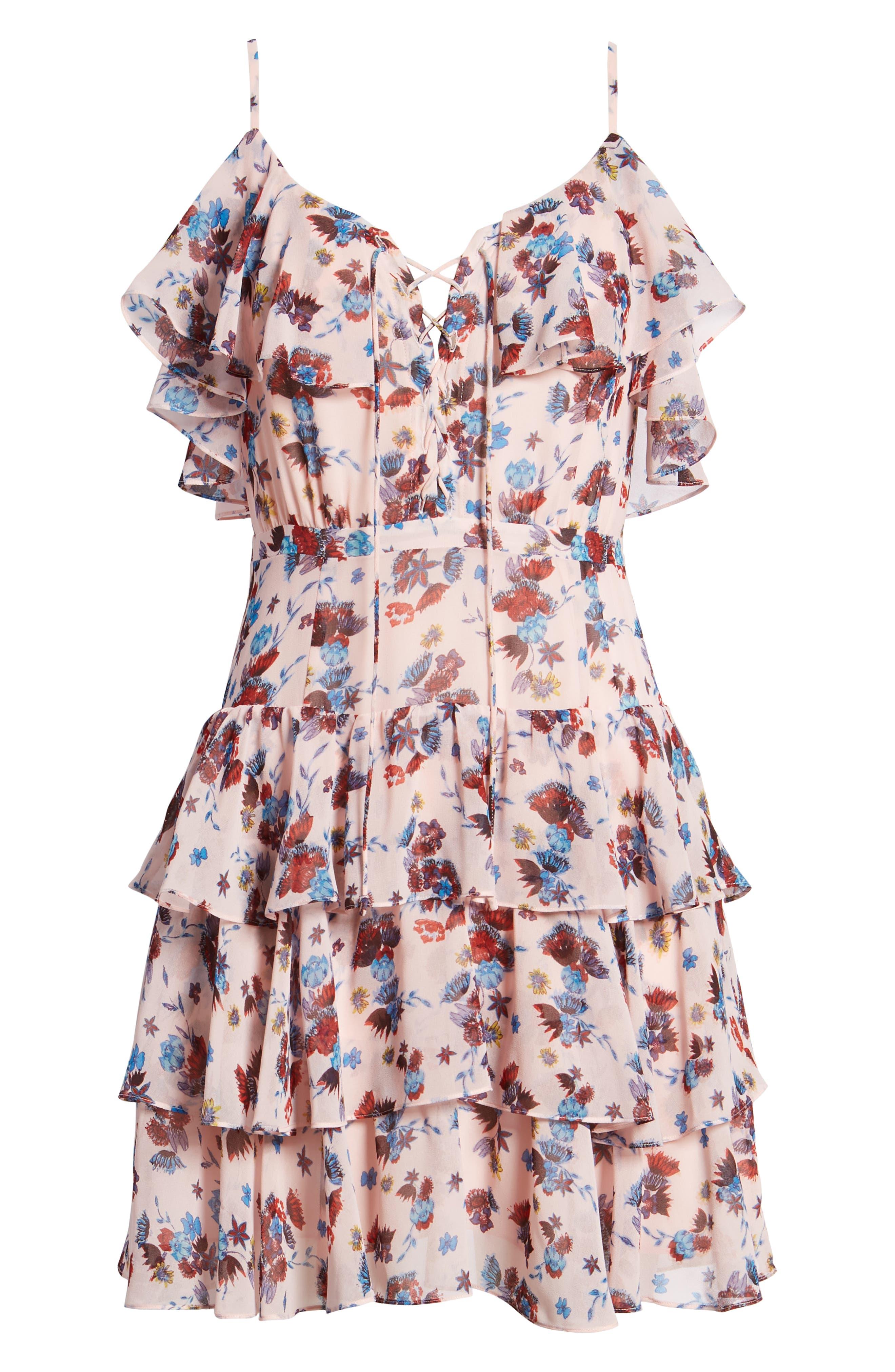 Marla Dress,                             Alternate thumbnail 7, color,                             671