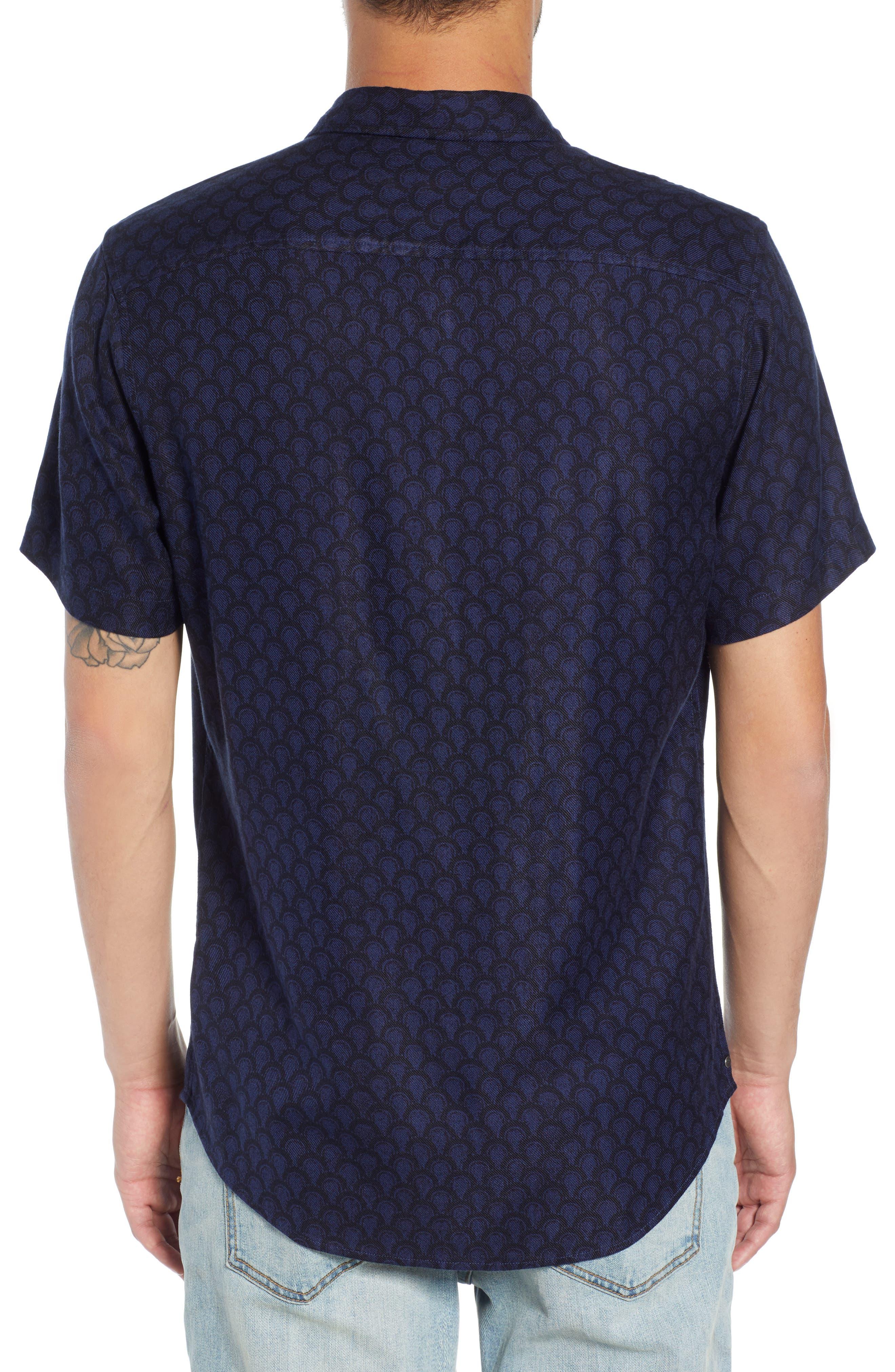 Trim Fit Print Sport Shirt,                             Alternate thumbnail 2, color,                             449
