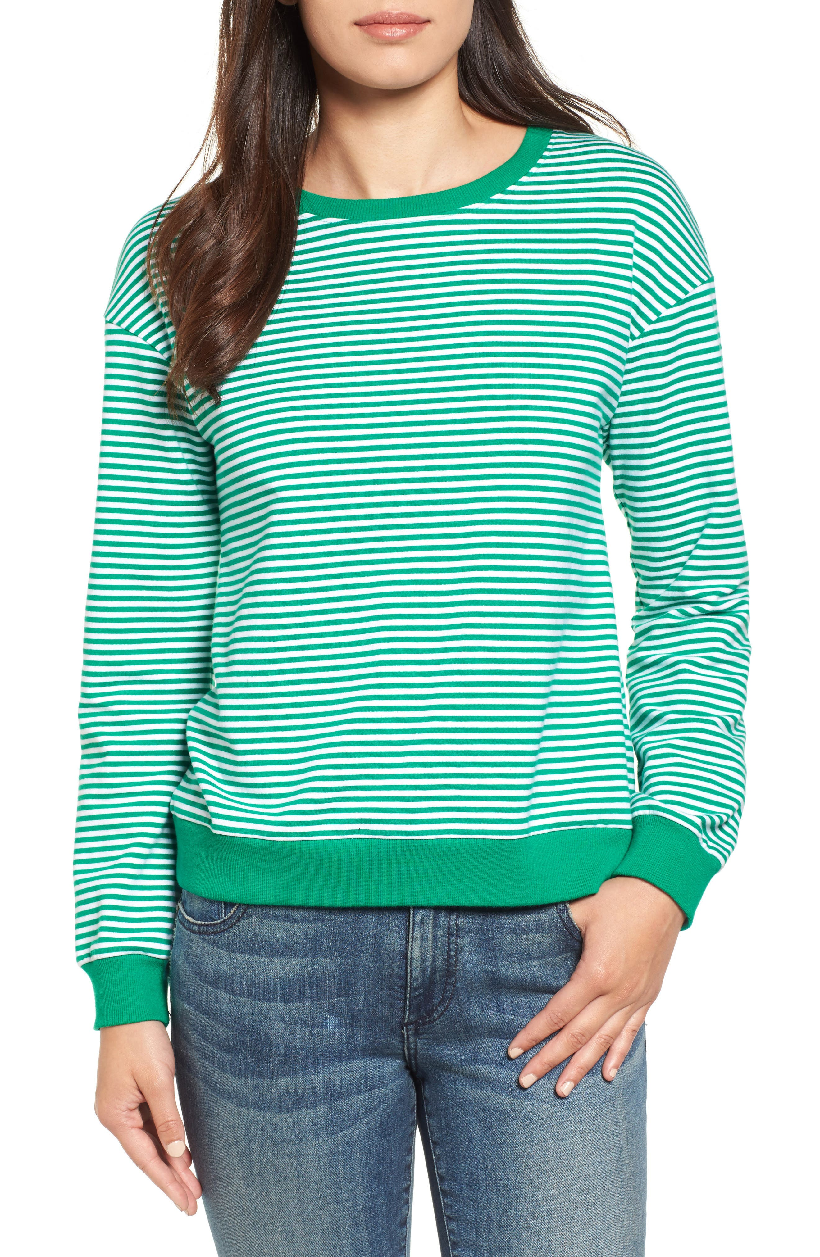 Lace-Up Knit Top,                         Main,                         color, 310