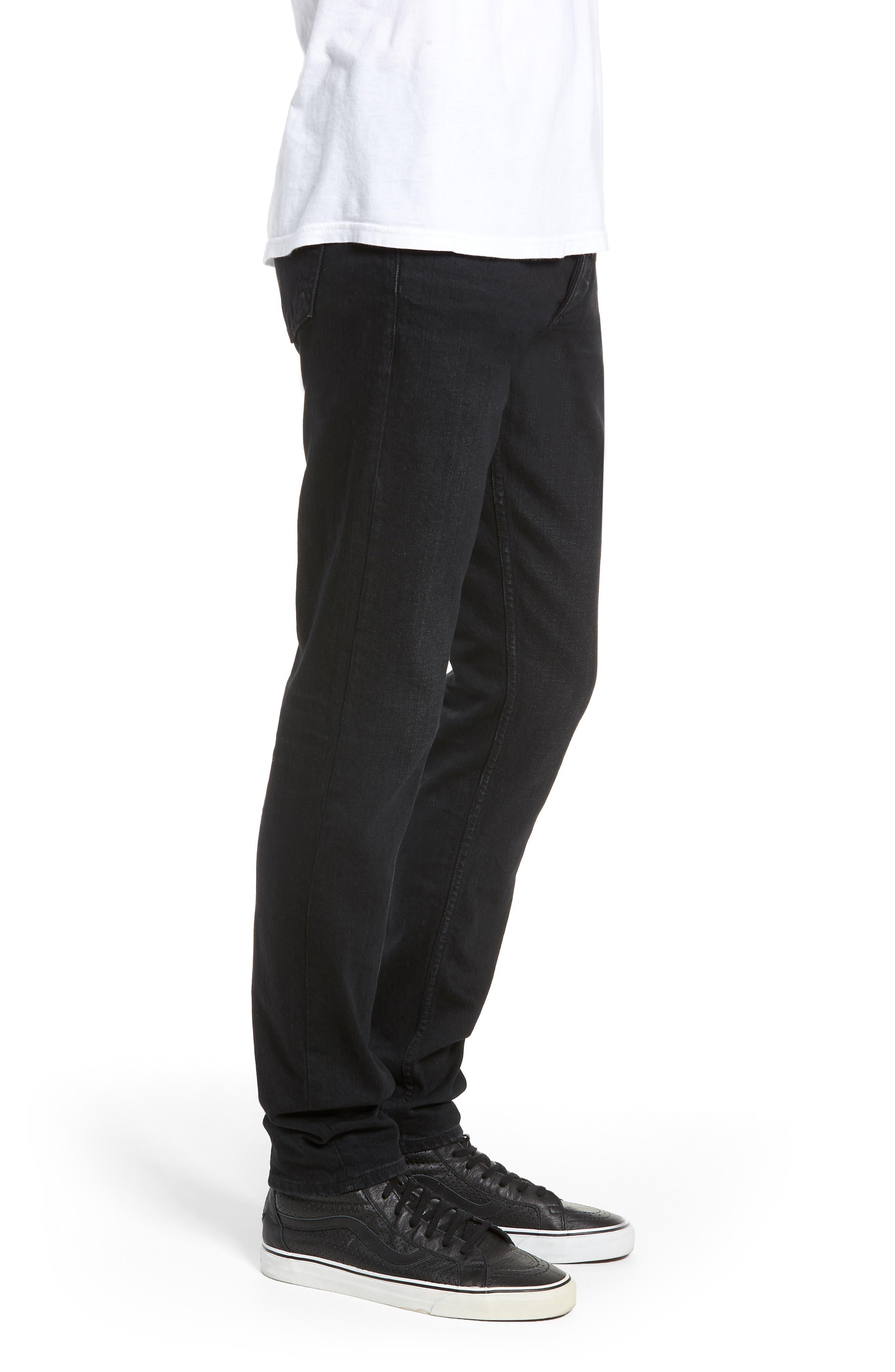 Fit 1 Skinny Fit Jeans,                             Alternate thumbnail 3, color,                             DEVON