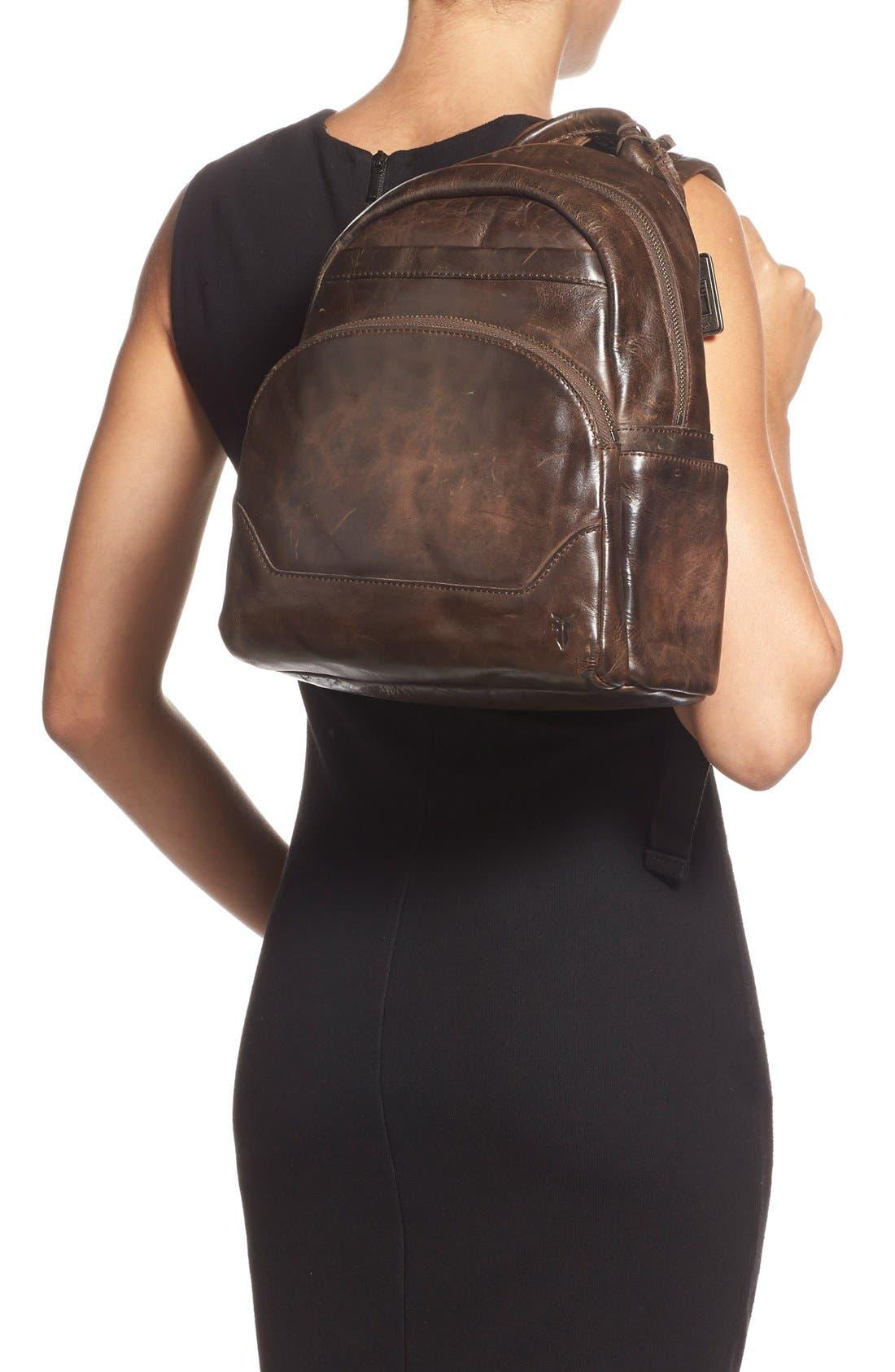 FRYE,                             'Melissa' Backpack,                             Alternate thumbnail 2, color,                             020