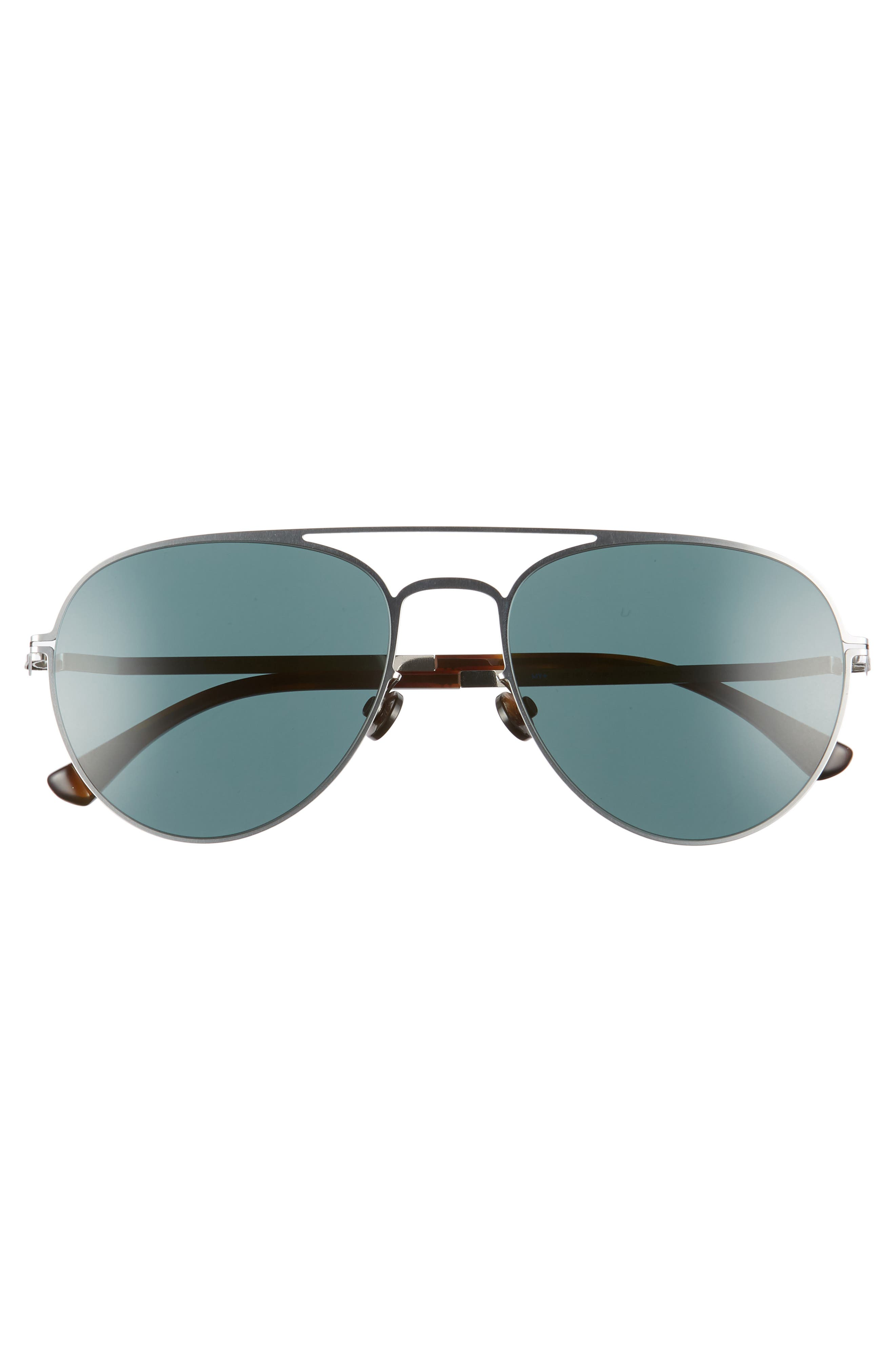 Samu 55mm Polarized Aviator Sunglasses,                             Alternate thumbnail 4, color,