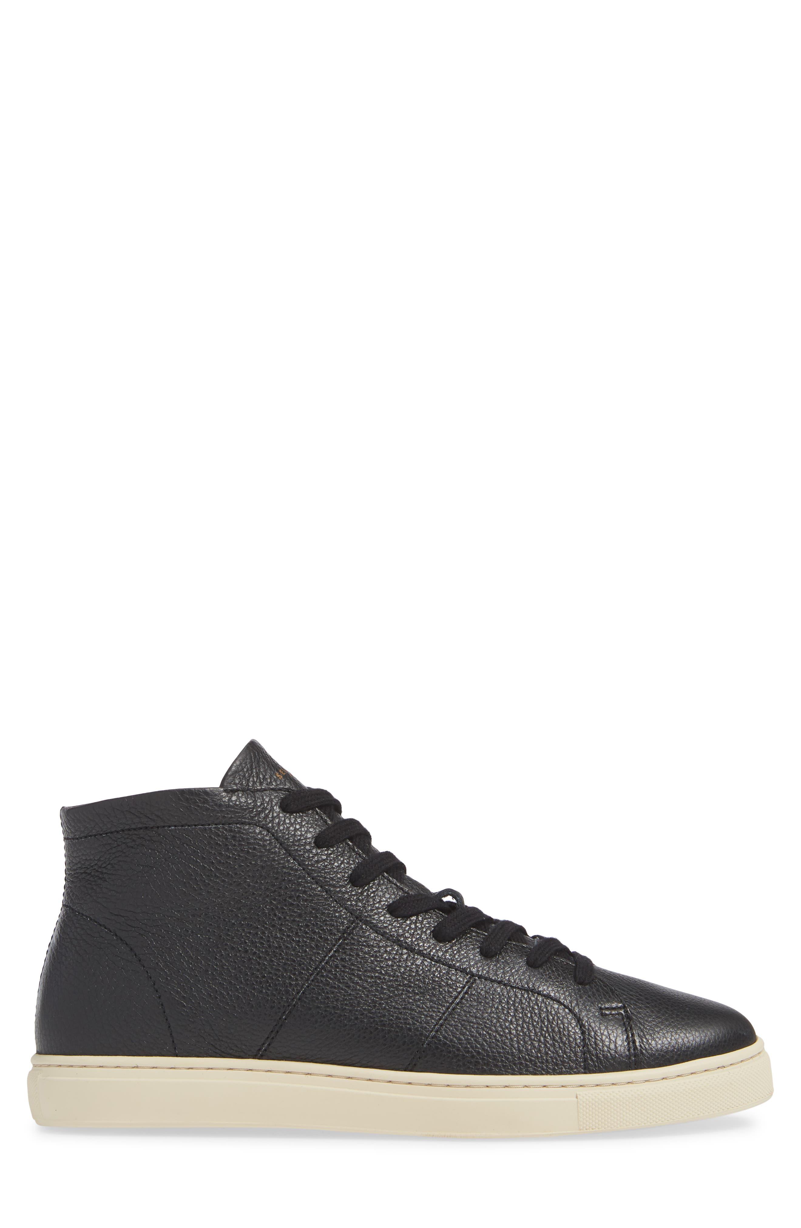 David Sneaker,                             Alternate thumbnail 3, color,                             BLACK