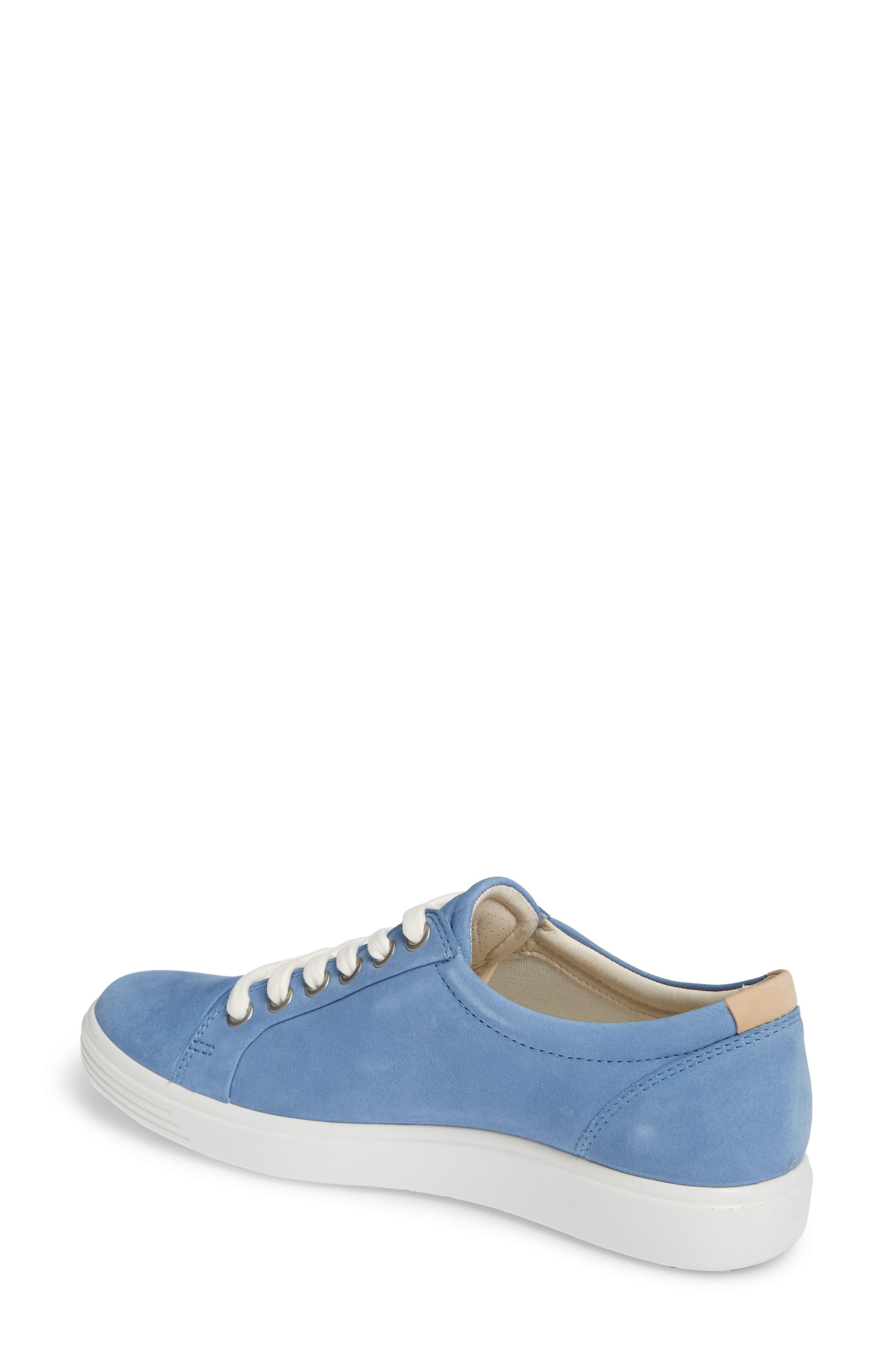Soft 7 Sneaker,                             Alternate thumbnail 2, color,                             RETRO BLUE LEATHER