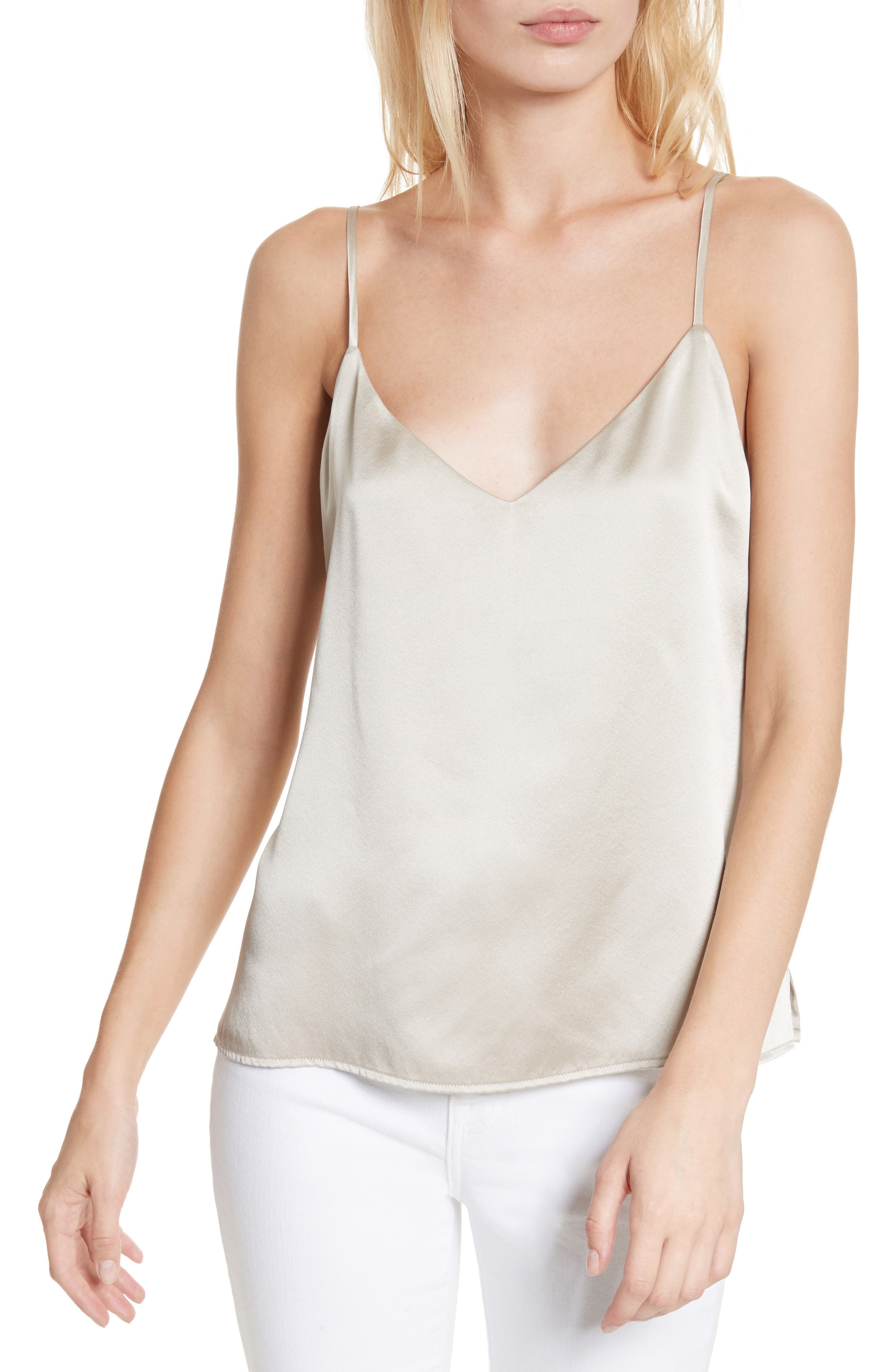 Jane Silk Camisole,                             Main thumbnail 1, color,                             040