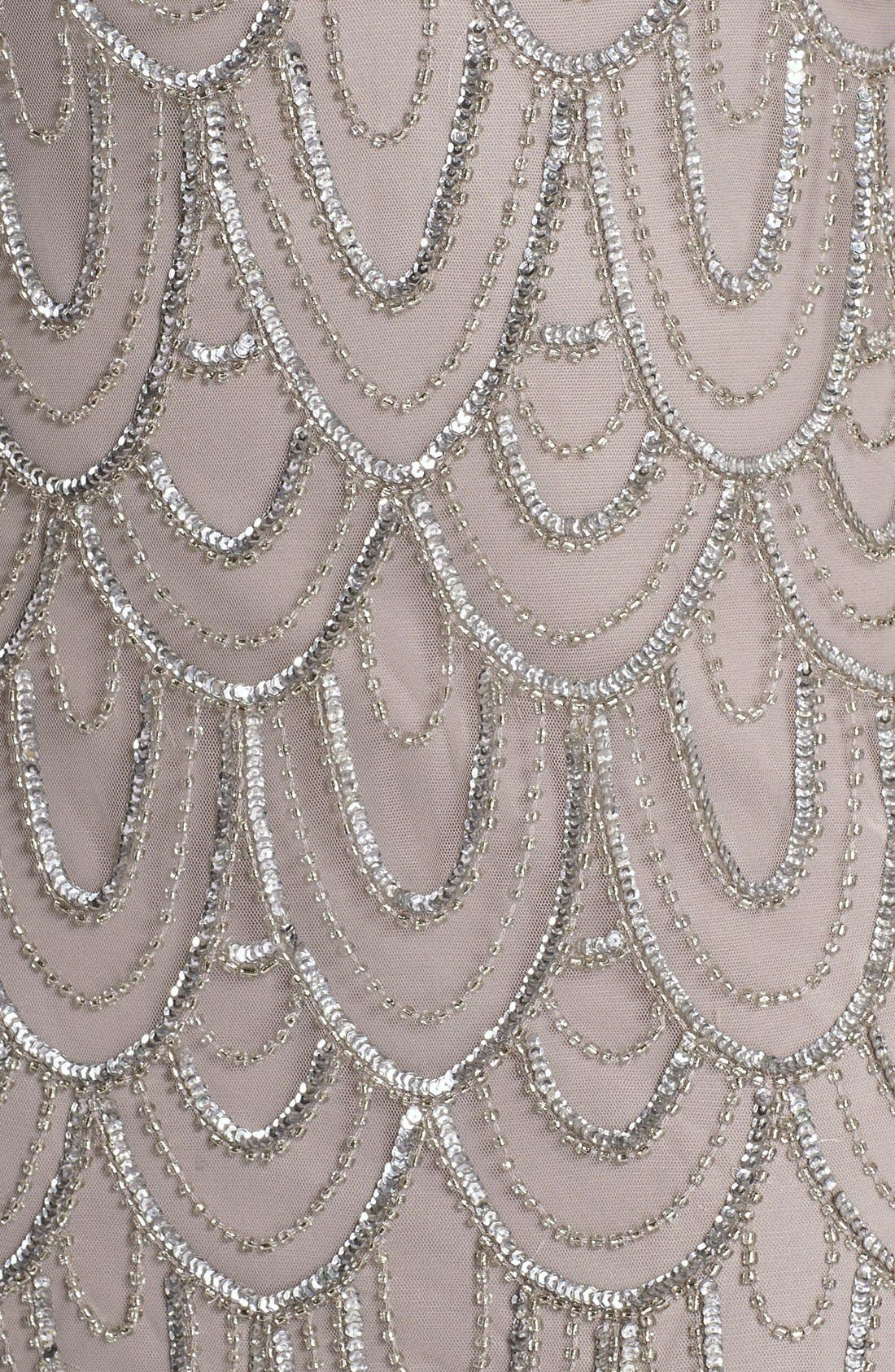 Beaded Sheath Dress,                             Alternate thumbnail 52, color,