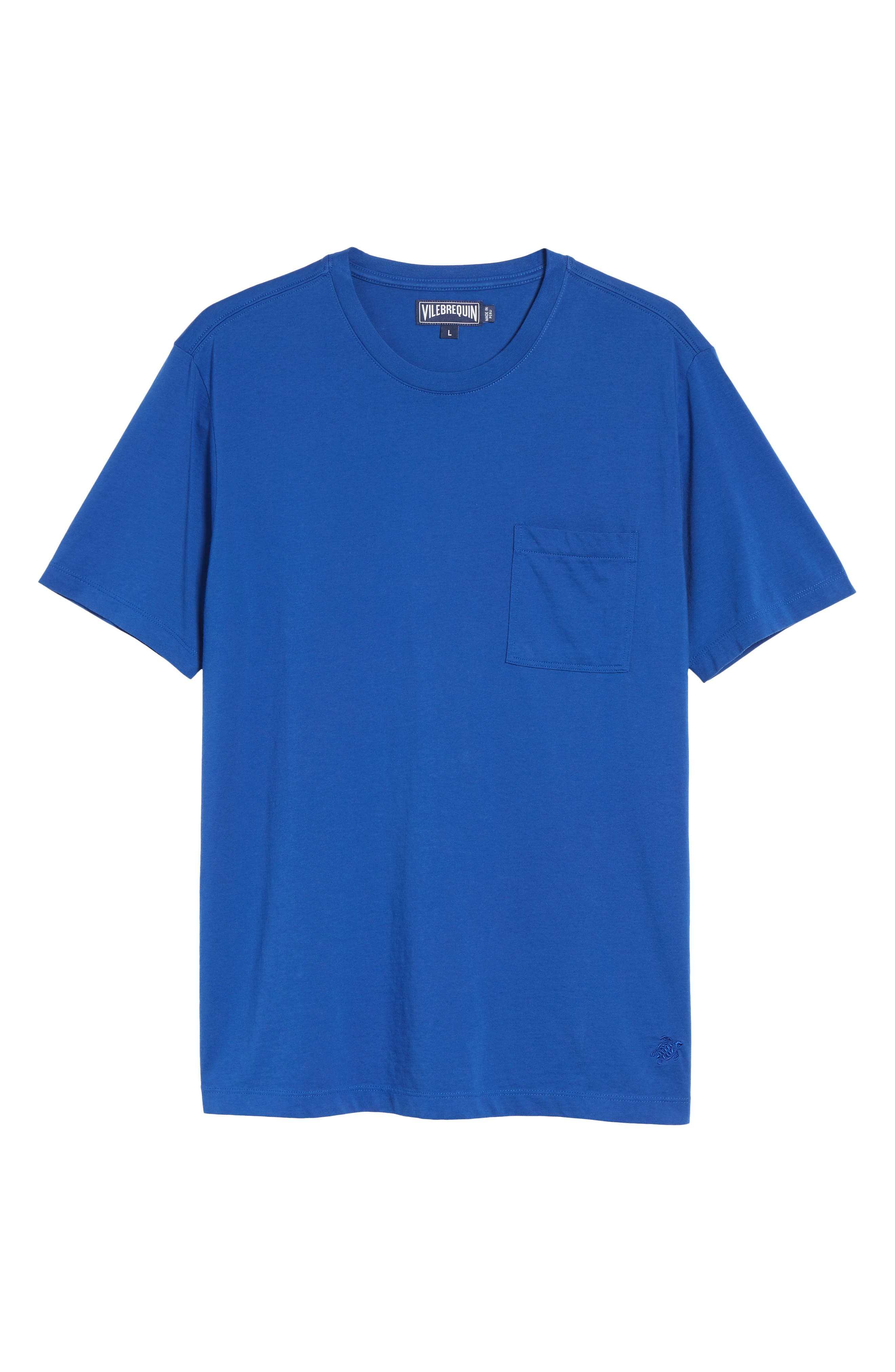 Classic Fit Pocket T-Shirt,                             Alternate thumbnail 6, color,                             413