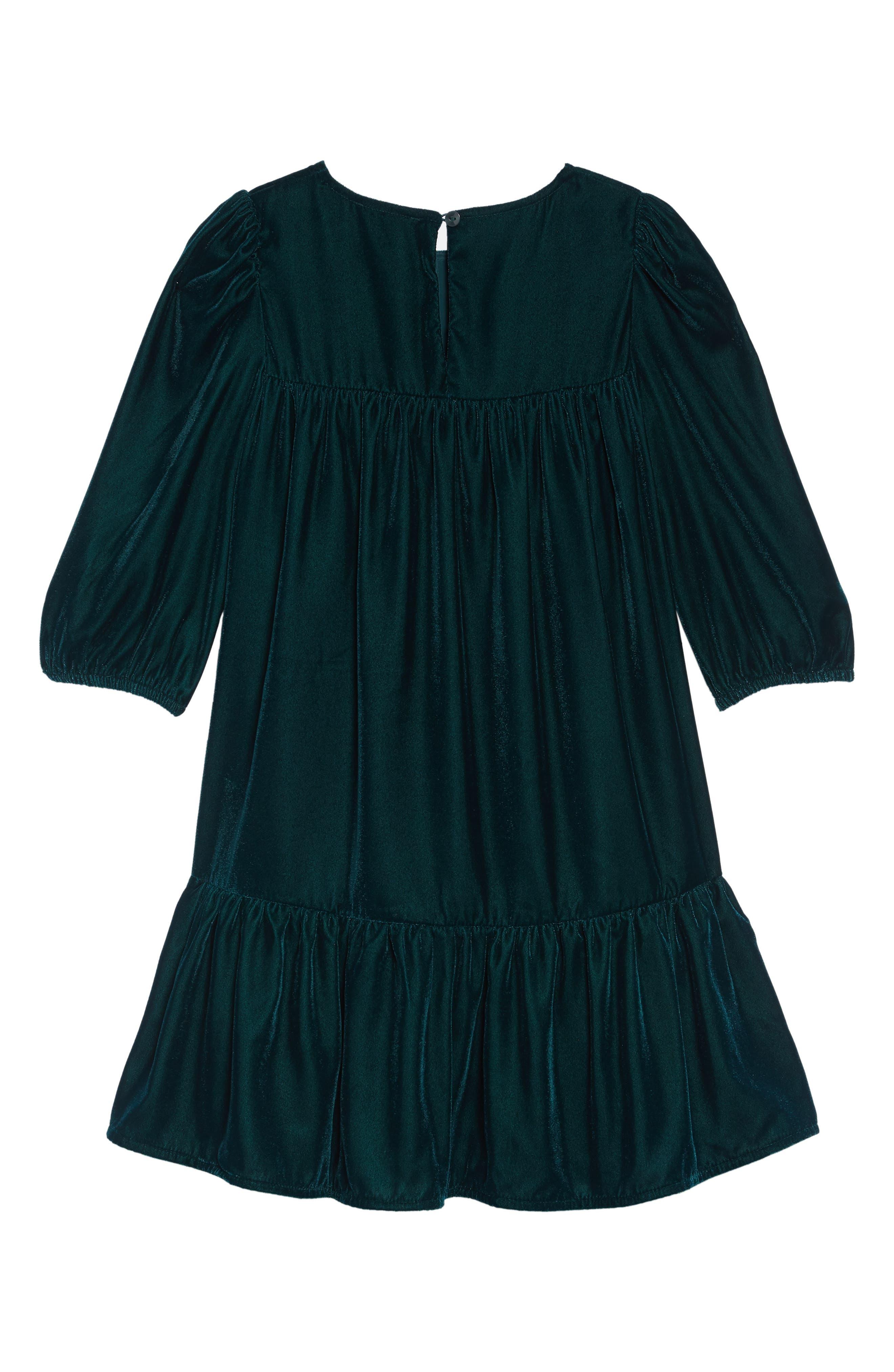 Velvet Party Dress,                             Alternate thumbnail 2, color,                             301