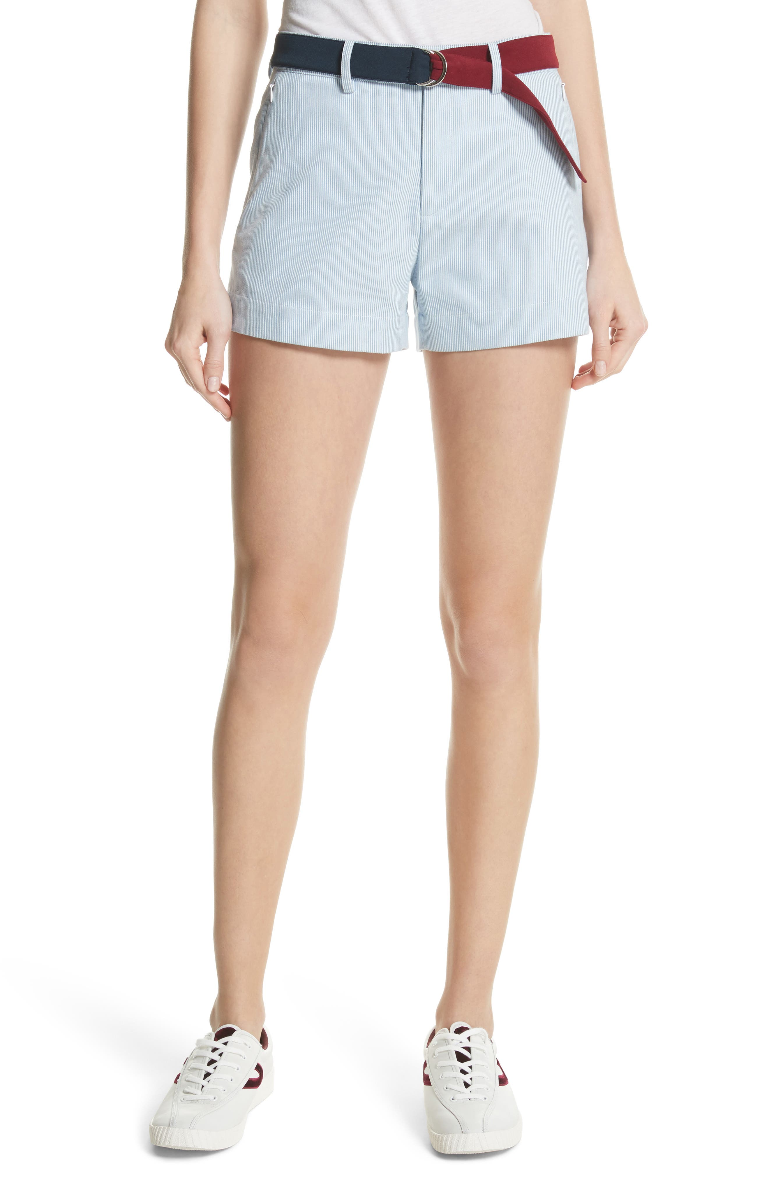 Multi Belt Shorts,                             Main thumbnail 1, color,                             453