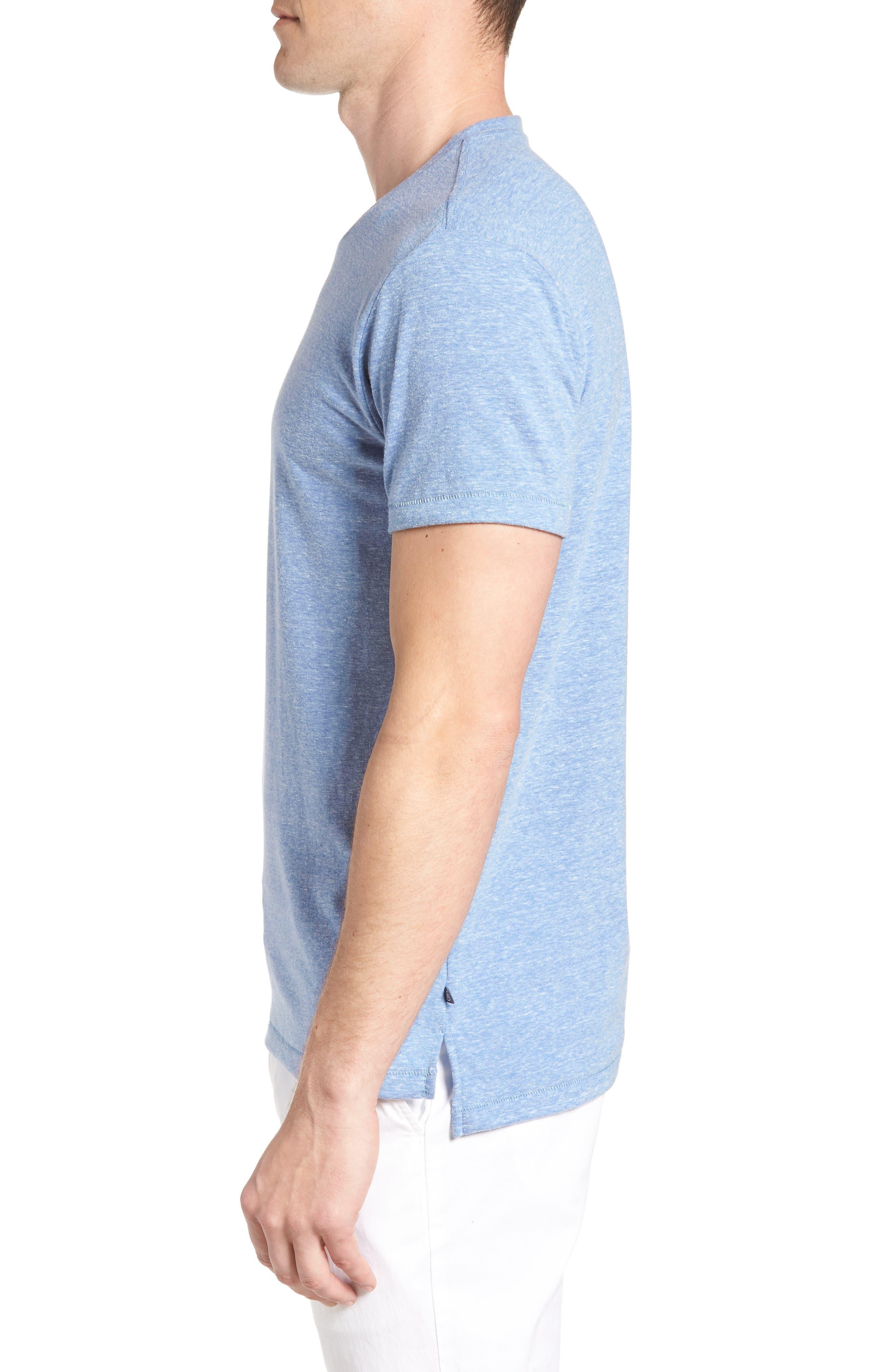 LA Slim Fit Heathered T-Shirt,                             Alternate thumbnail 8, color,