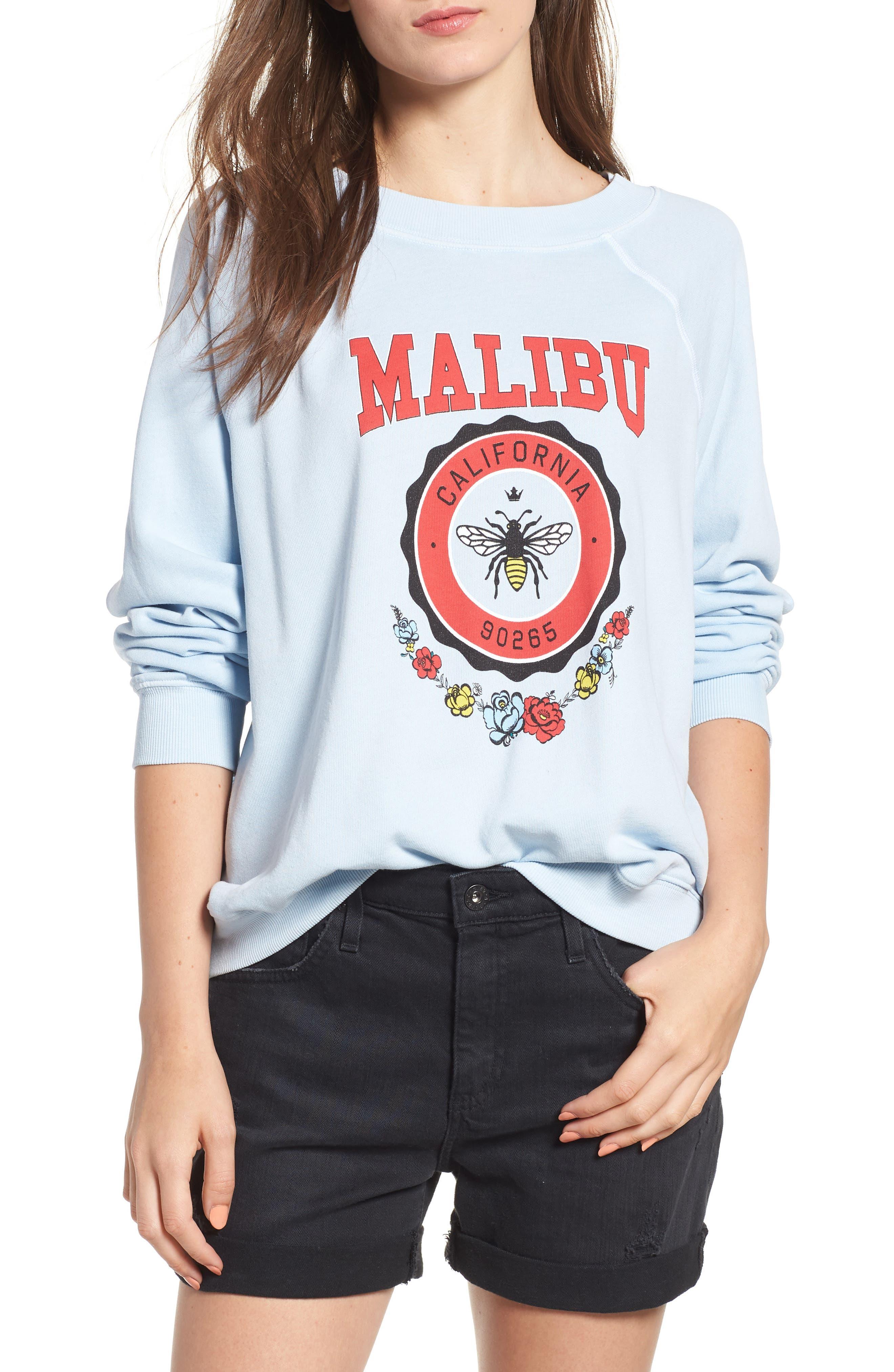 Malibu Crest Sommers Sweatshirt,                         Main,                         color, 400